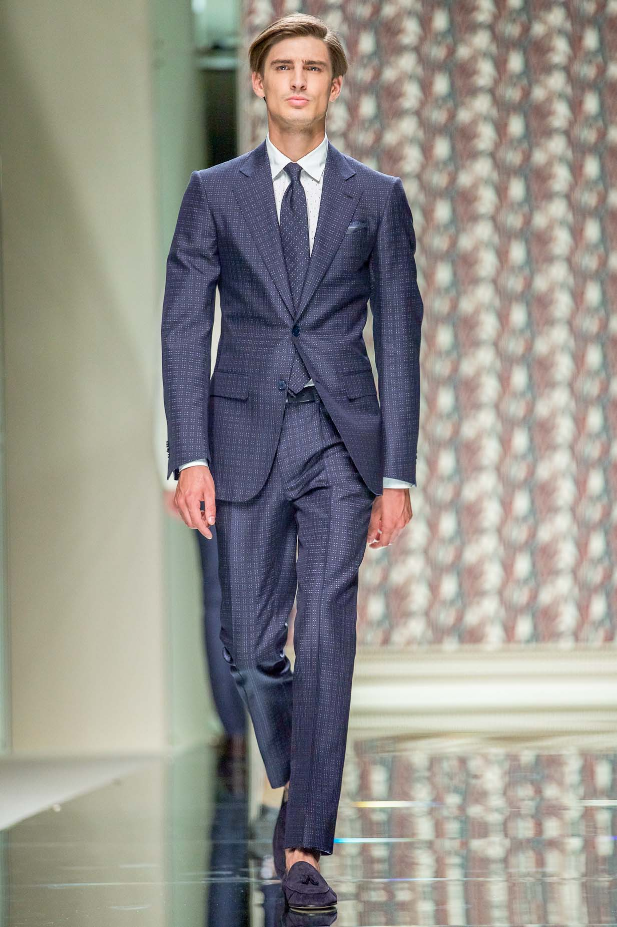 Runway Ermenegildo Zegna Spring Summer 2013 Men Collection Milano Fashion Week