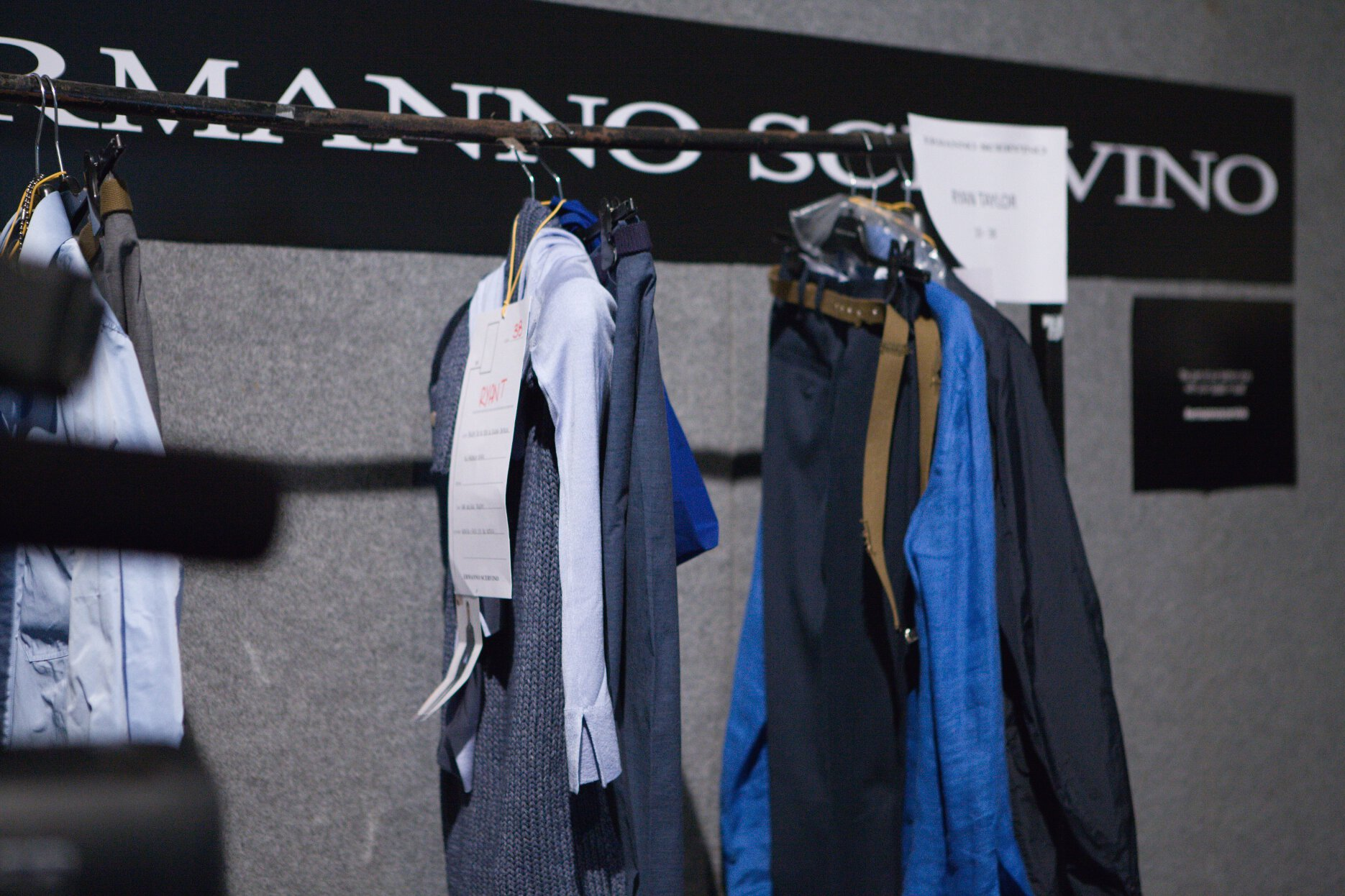 Backstage Ermanno Scervino Milan Fashion Week