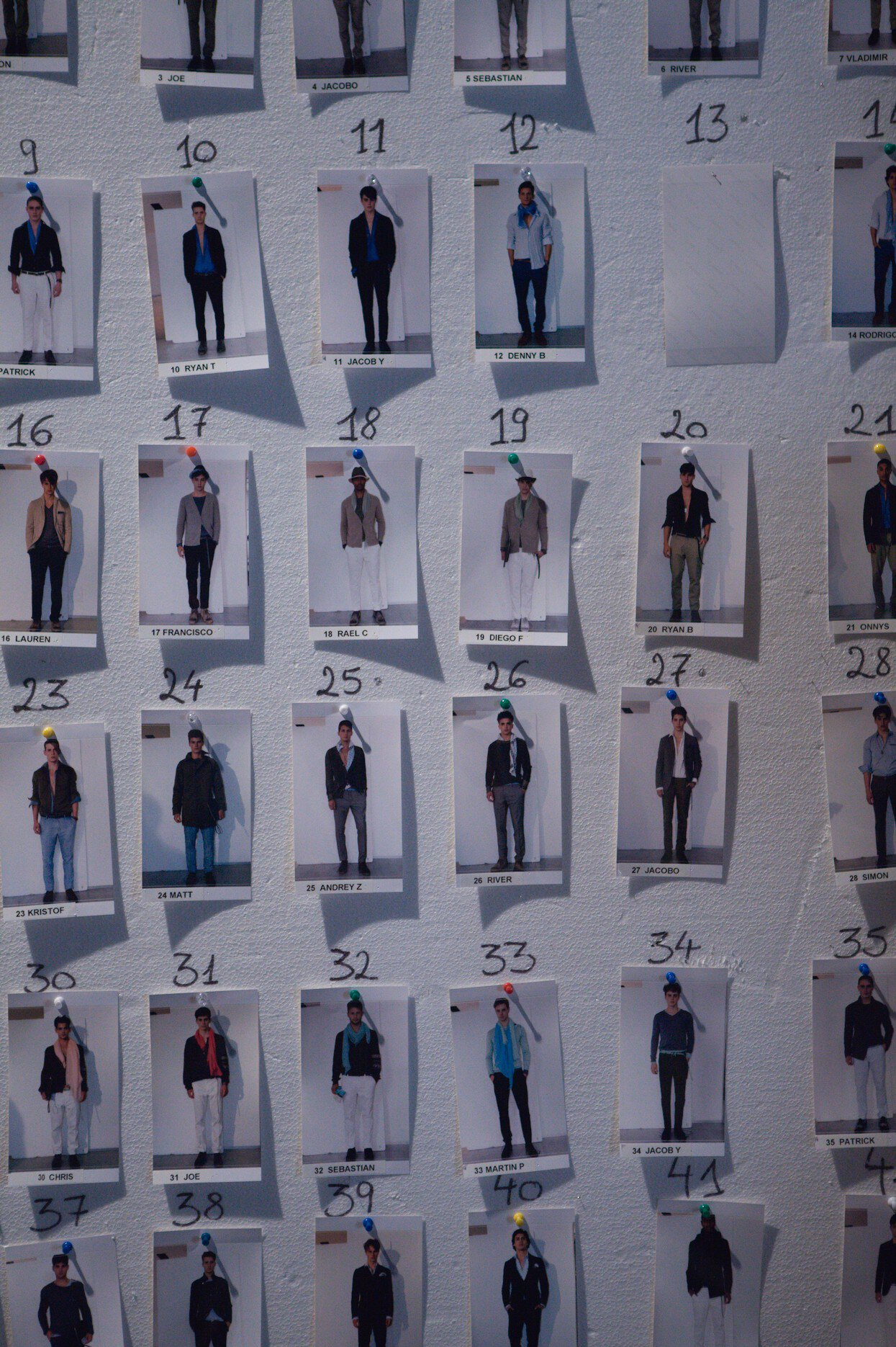 Backstage Ermanno Scervino Spring Summer 2013 Men Collection Milano Fashion Week Fashion Show