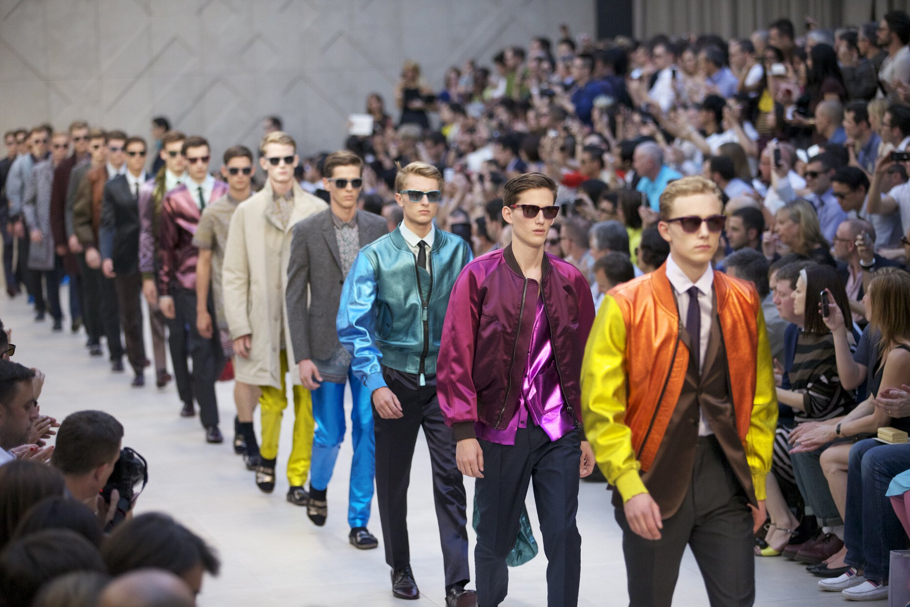 Burberry Fashion Show 2013 Finale