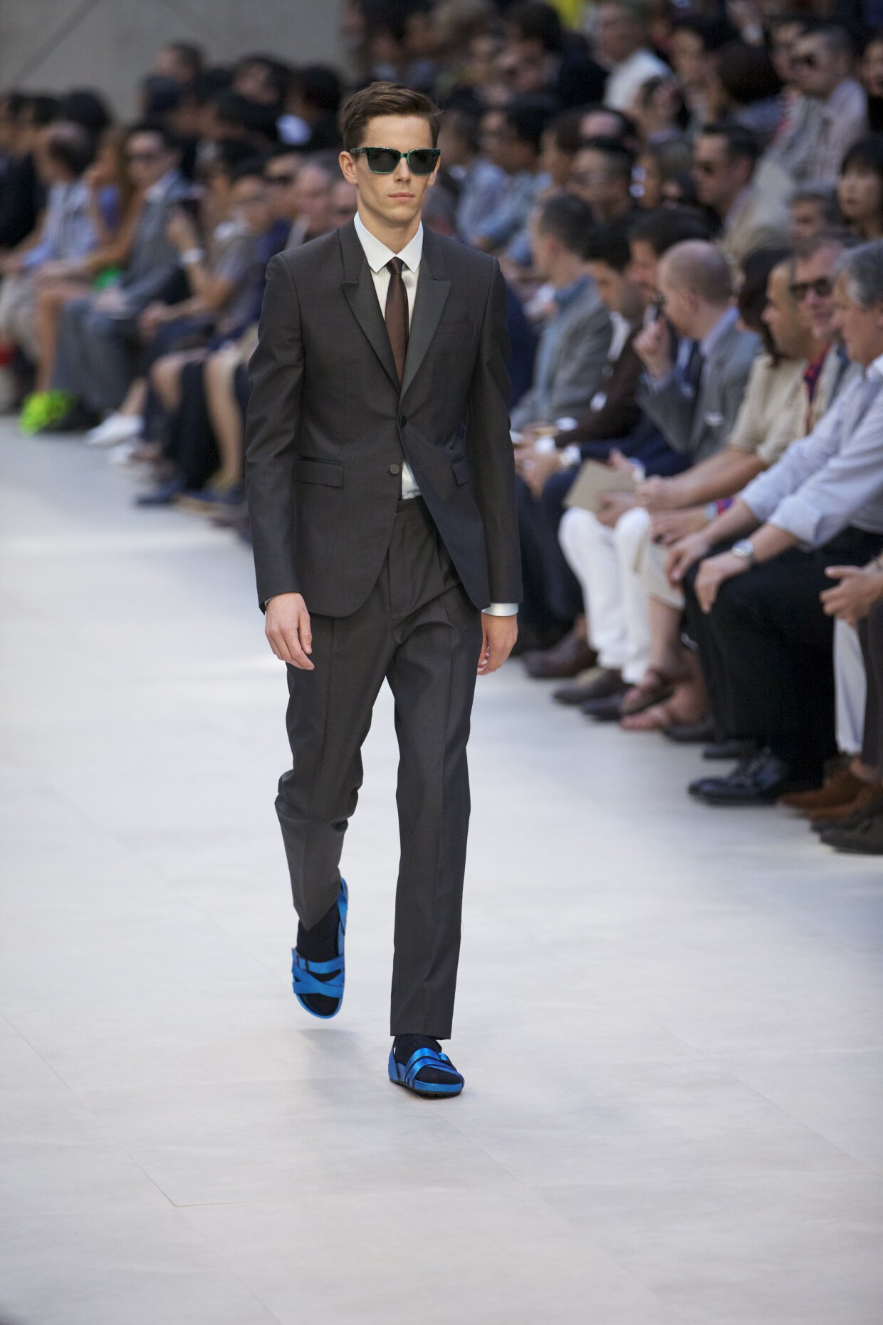 Burberry Prorsum 2013 - Tailored Mohair Wool Suit