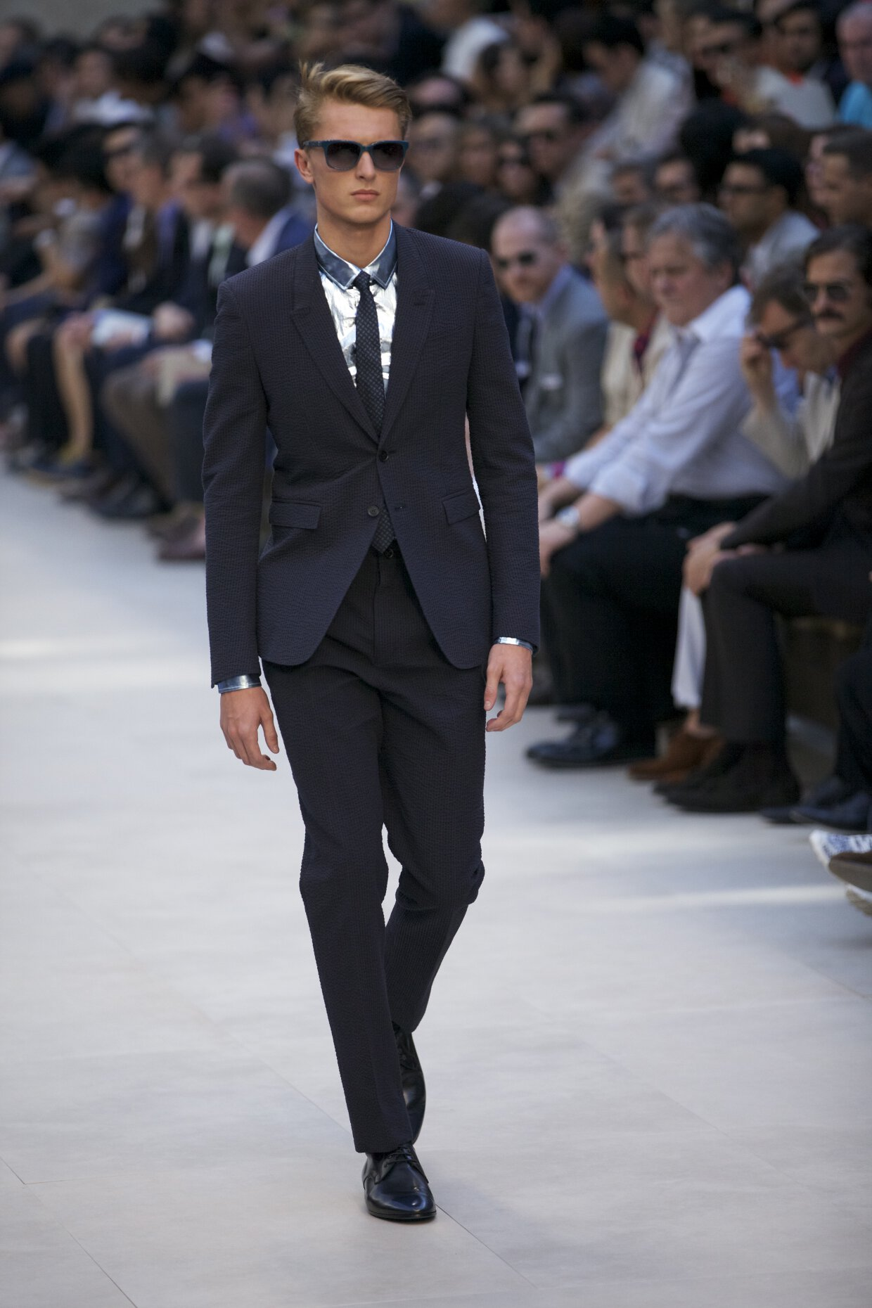 burberry prorsum spring summer 2013 men�s collection the