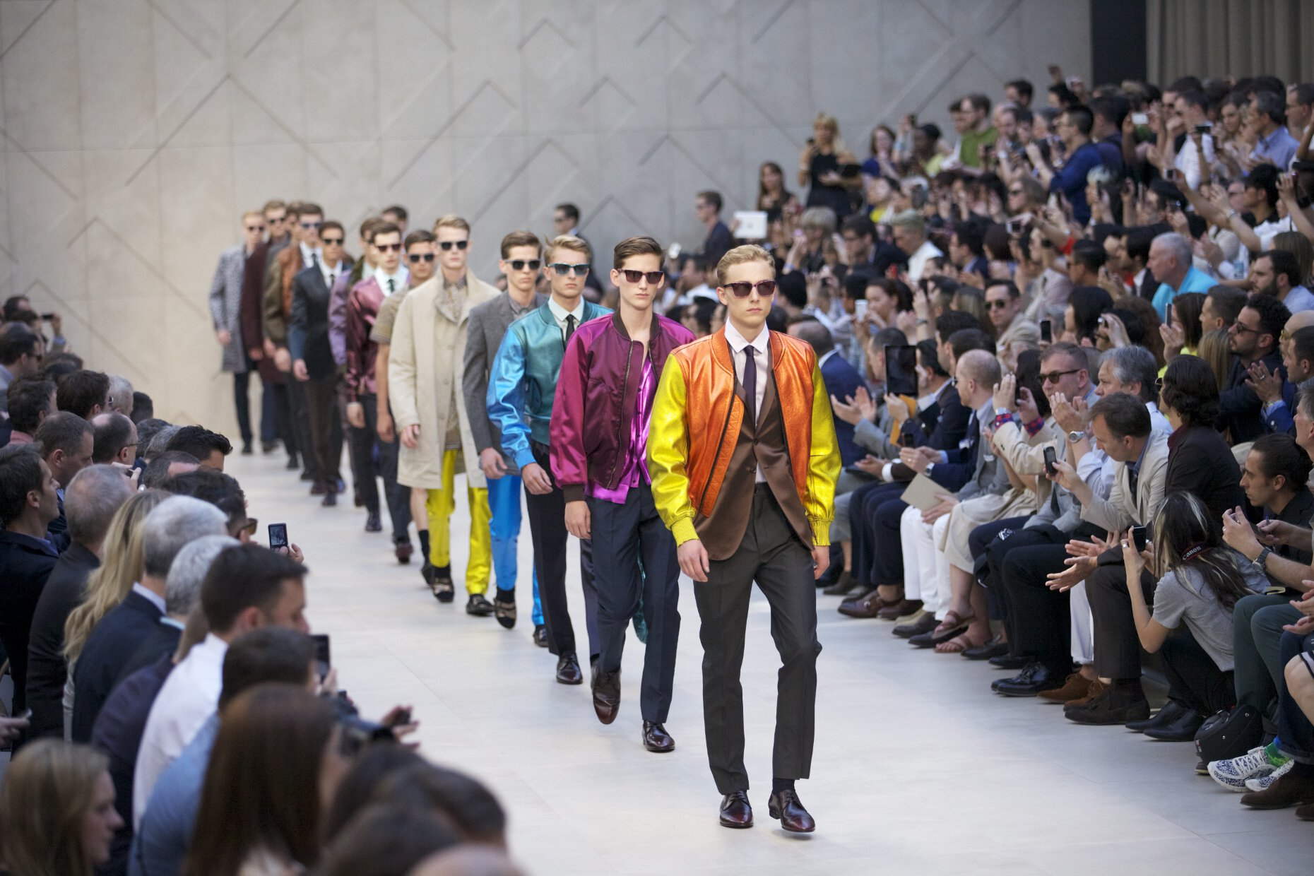 Burberry Prorsum Spring Summer 2013 Men Collection Milano Fashion Week Runway Finale Details