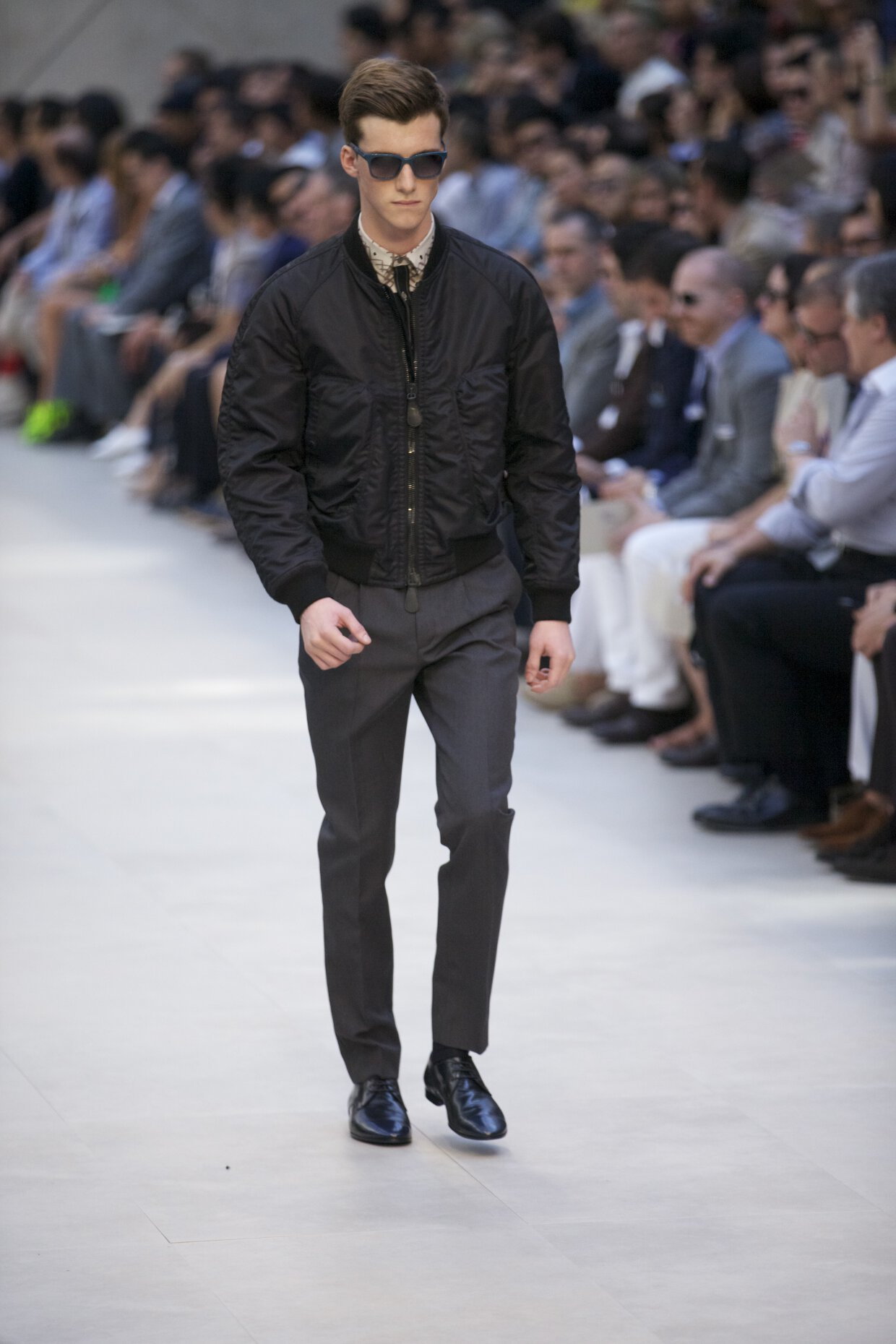 Catwalk Burberry Prorsum Spring Summer 2013 Men Collection Milano Fashion Week
