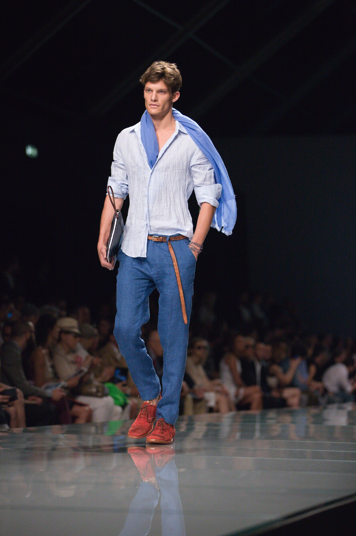 Men Fashion Show Summer Ermanno Scervino Spring Summer