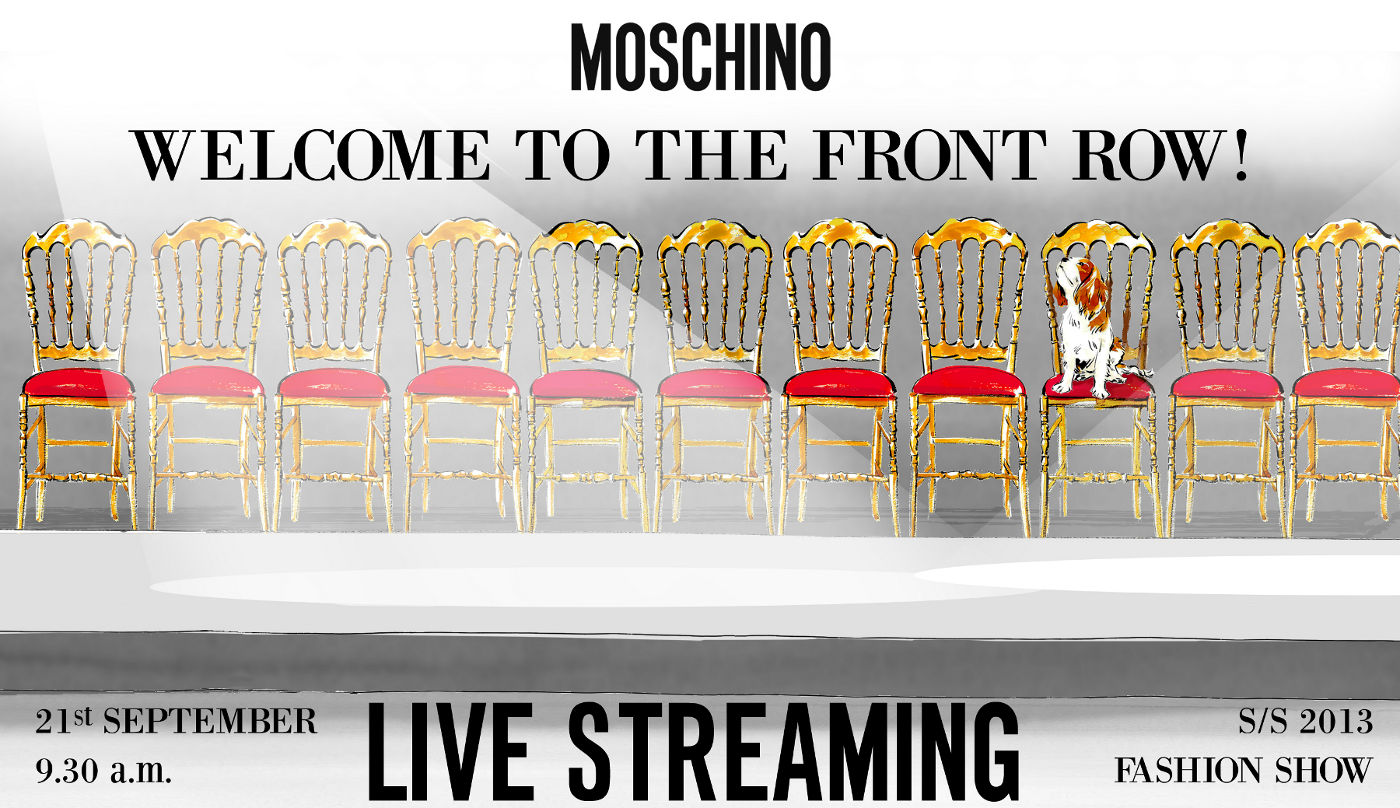 Moschino Spring Summer 2013 Fashion Show Live Streaming 21 September 2012
