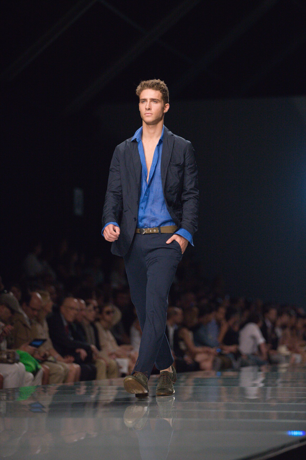 Runway Ermanno Scervino Spring Summer 2013 Men Collection Milano Fashion Week
