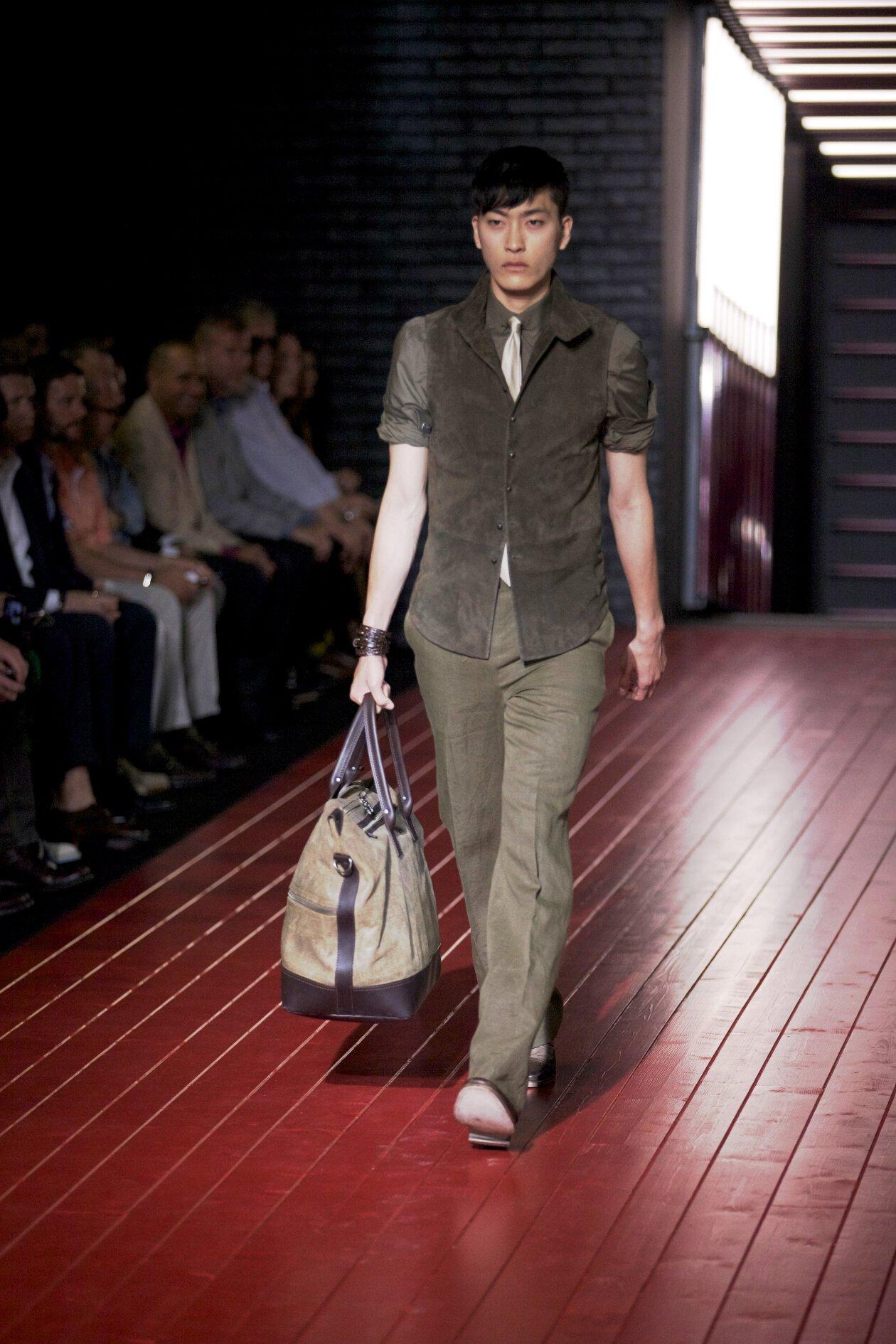 Runway John Varvatos Spring Summer 2013 Men Collection Milano Fashion Week