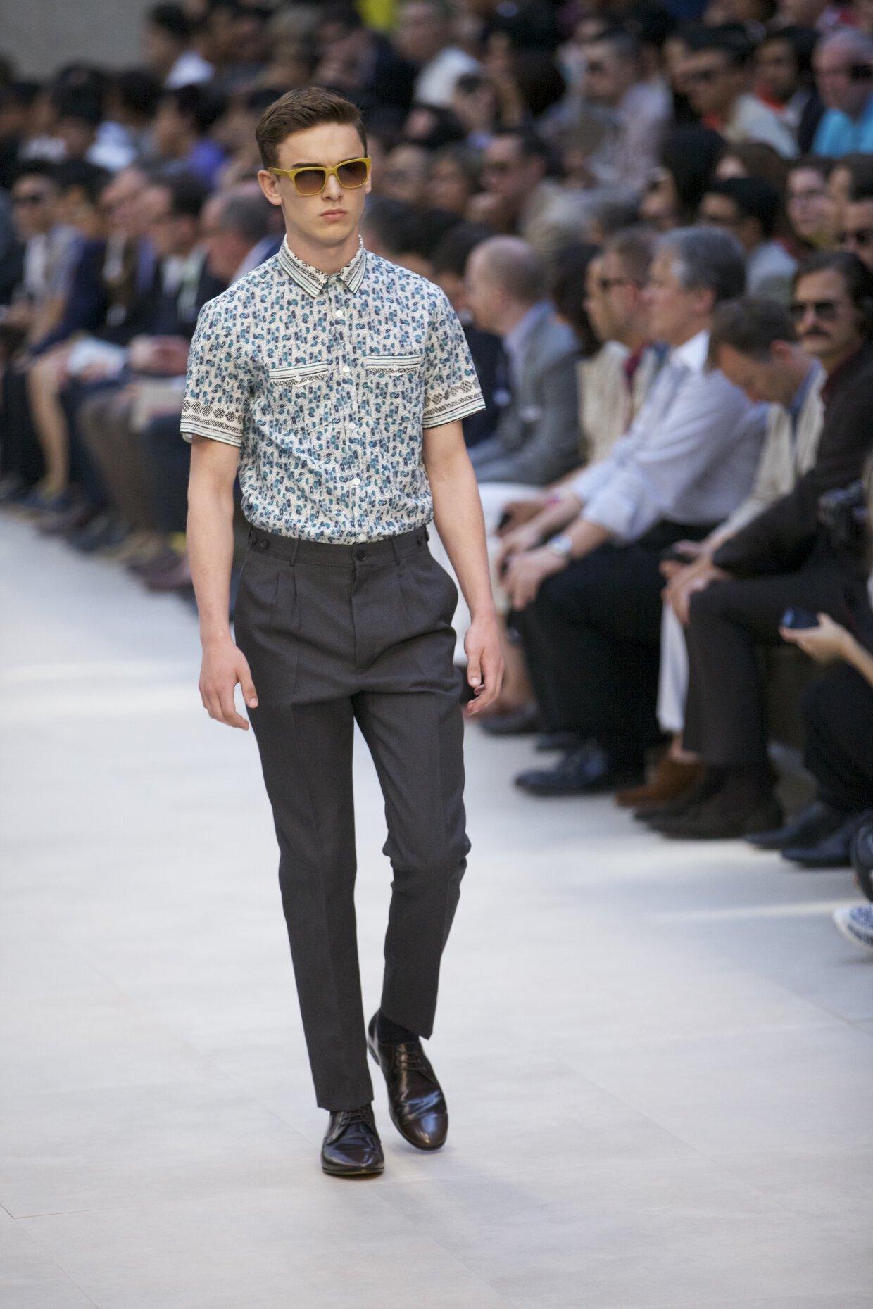 Spring Summer 2013 Fashion Men s Collection Burberry Prorsum