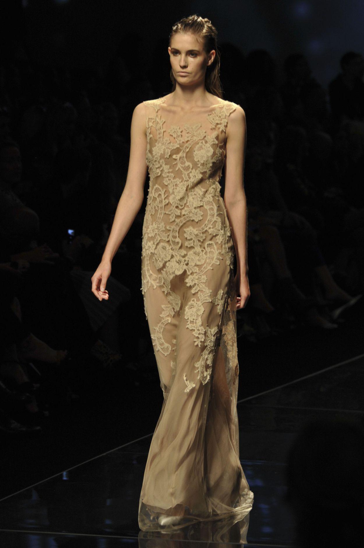 Alberta Ferretti Catwalk Milano Fashion Week