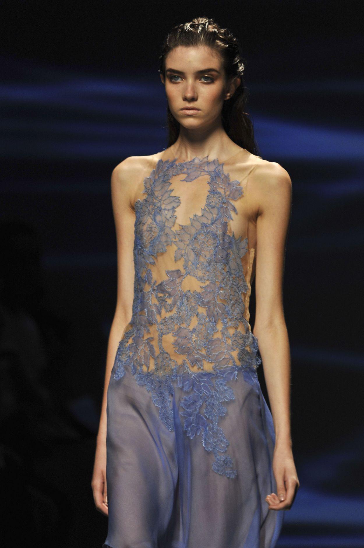Alberta Ferretti Spring 2013 Collection Milan Fashion Week