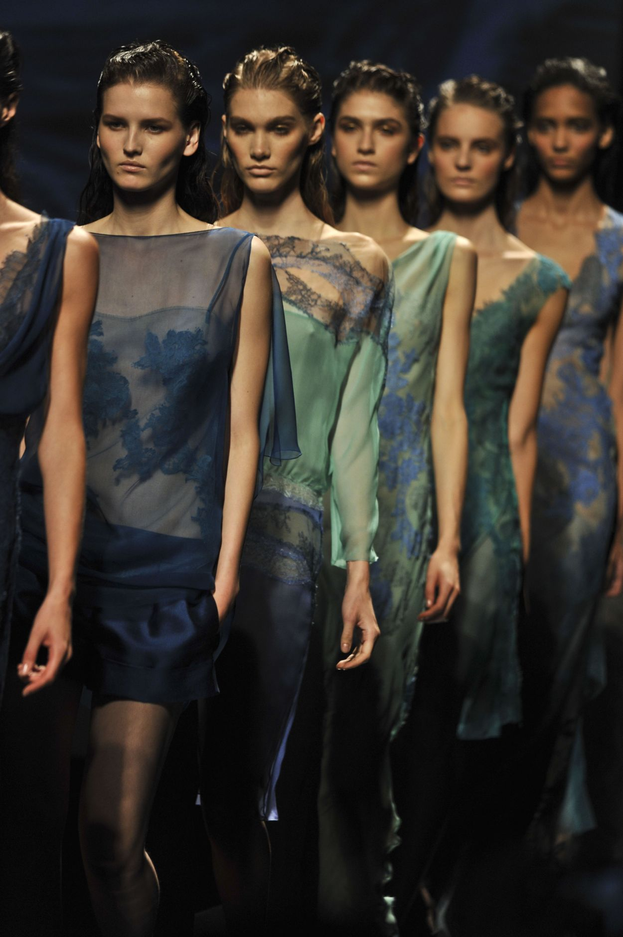 Alberta Ferretti Spring Summer 2013 Women Collection Milano Fashion Week Runway Finale