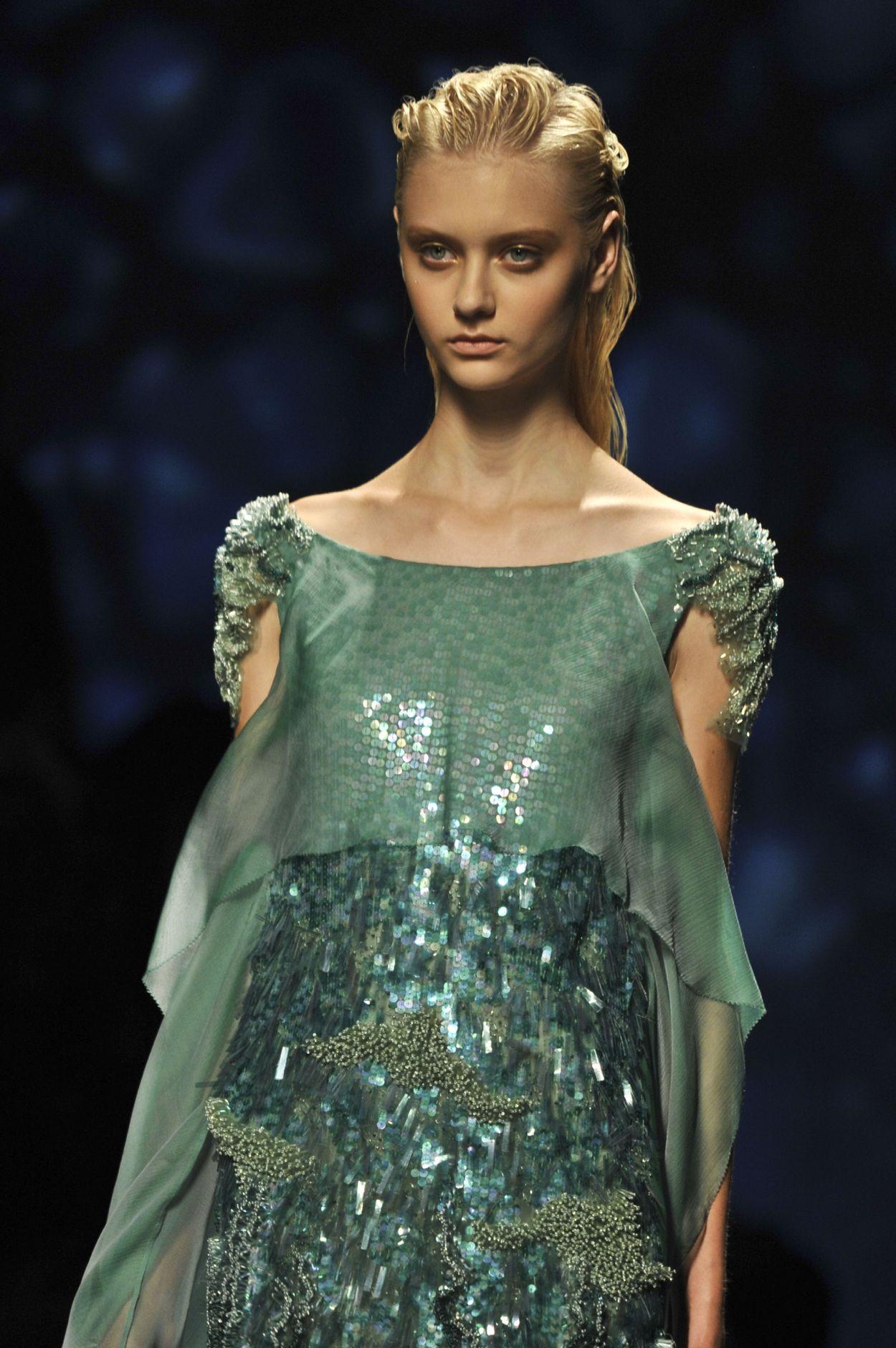 Alberta Ferretti Summer 2013 Collection Milan Fashion Week