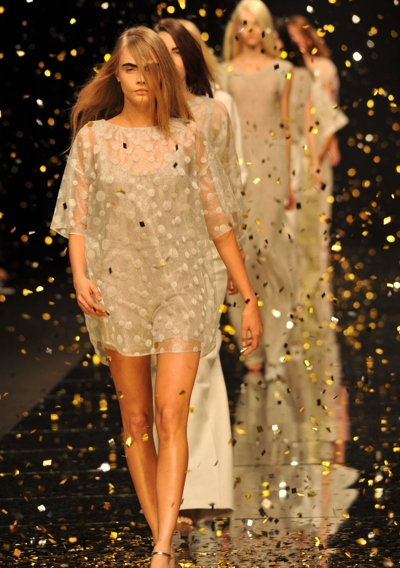 Anteprima Spring Summer 2013 Women Collection Milano Fashion Week Runway Finale