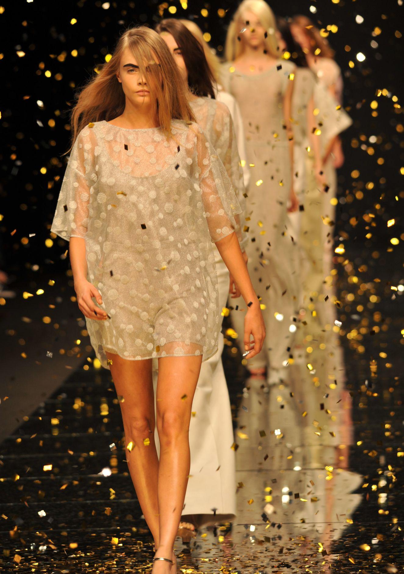 Anteprima Spring Summer 2013 Women Collection Milano Fashion Week Runway Finale