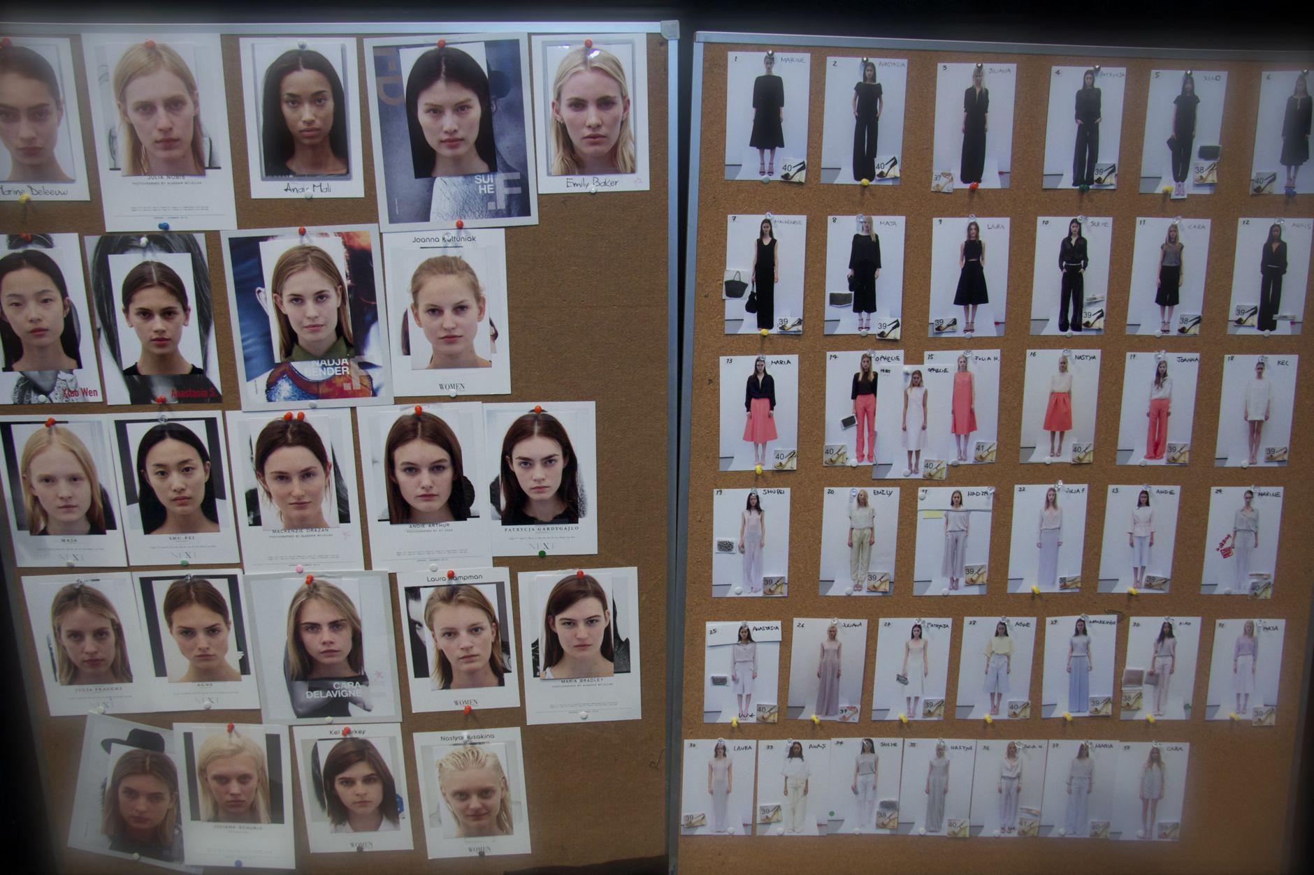 Backstage Anteprima 2013 Milan Fashion Week