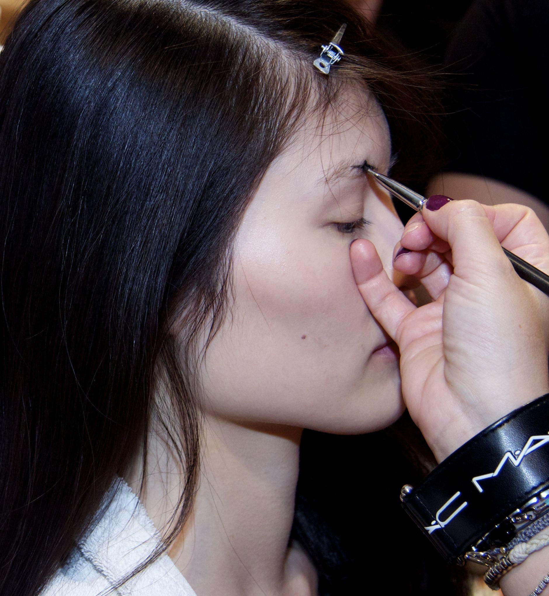 Backstage Anteprima Fashion Show Beauty Makeup Milano Fashion Week
