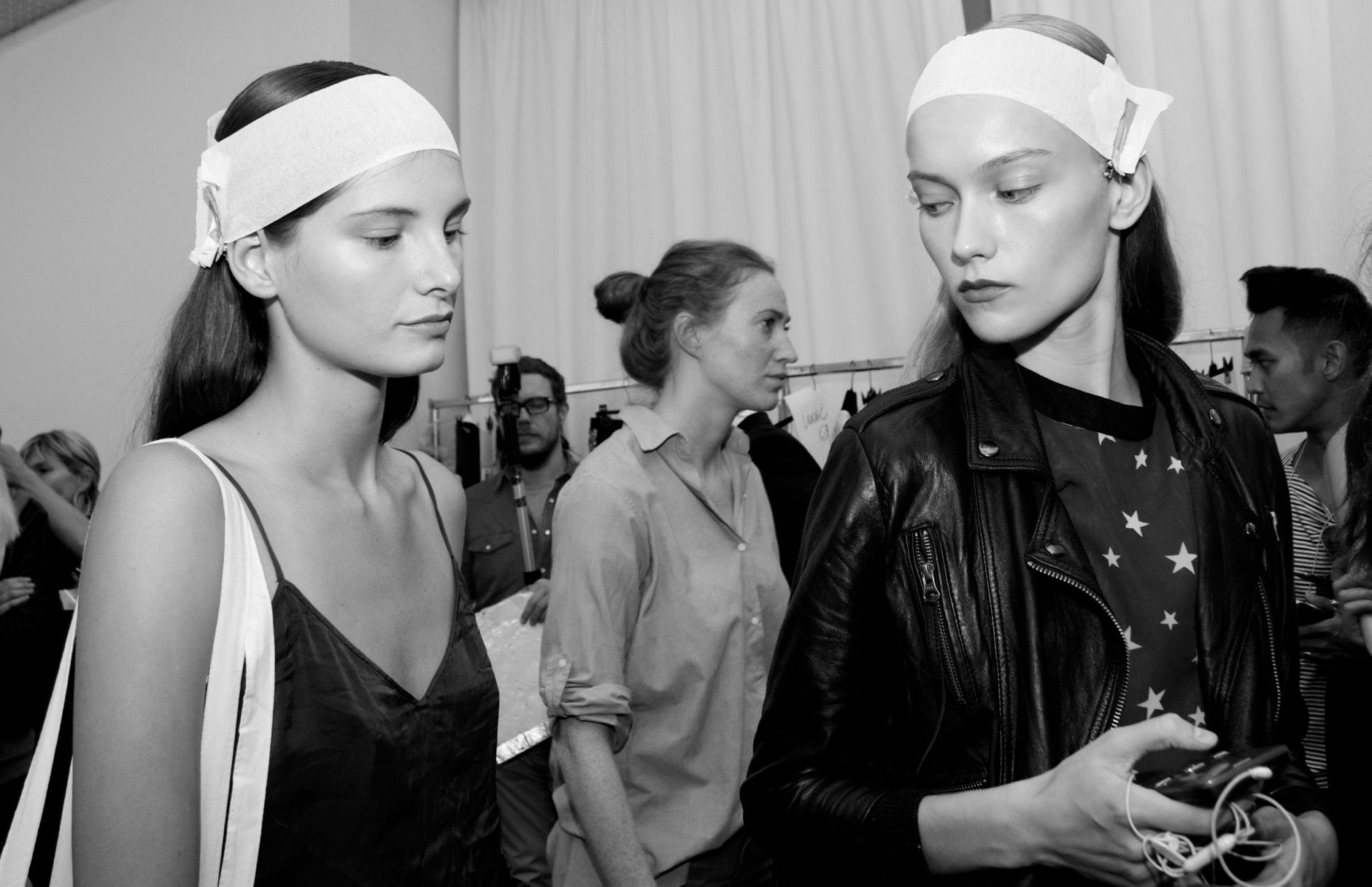Backstage Spring Summer 2013 Fashion Womenswear Trends