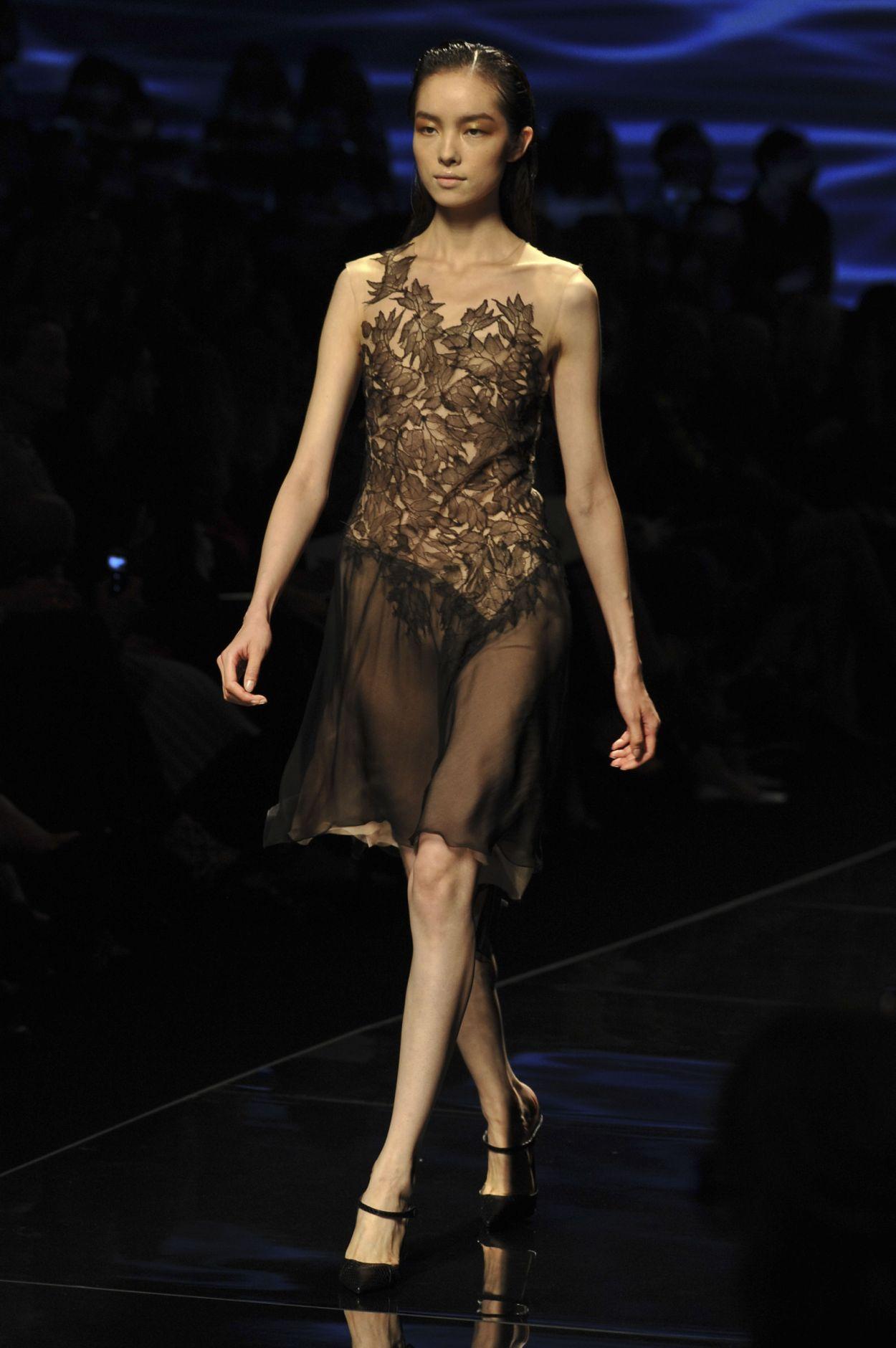 Catwalk Alberta Ferretti Spring Summer 2013 Women Collection Milano Fashion Week