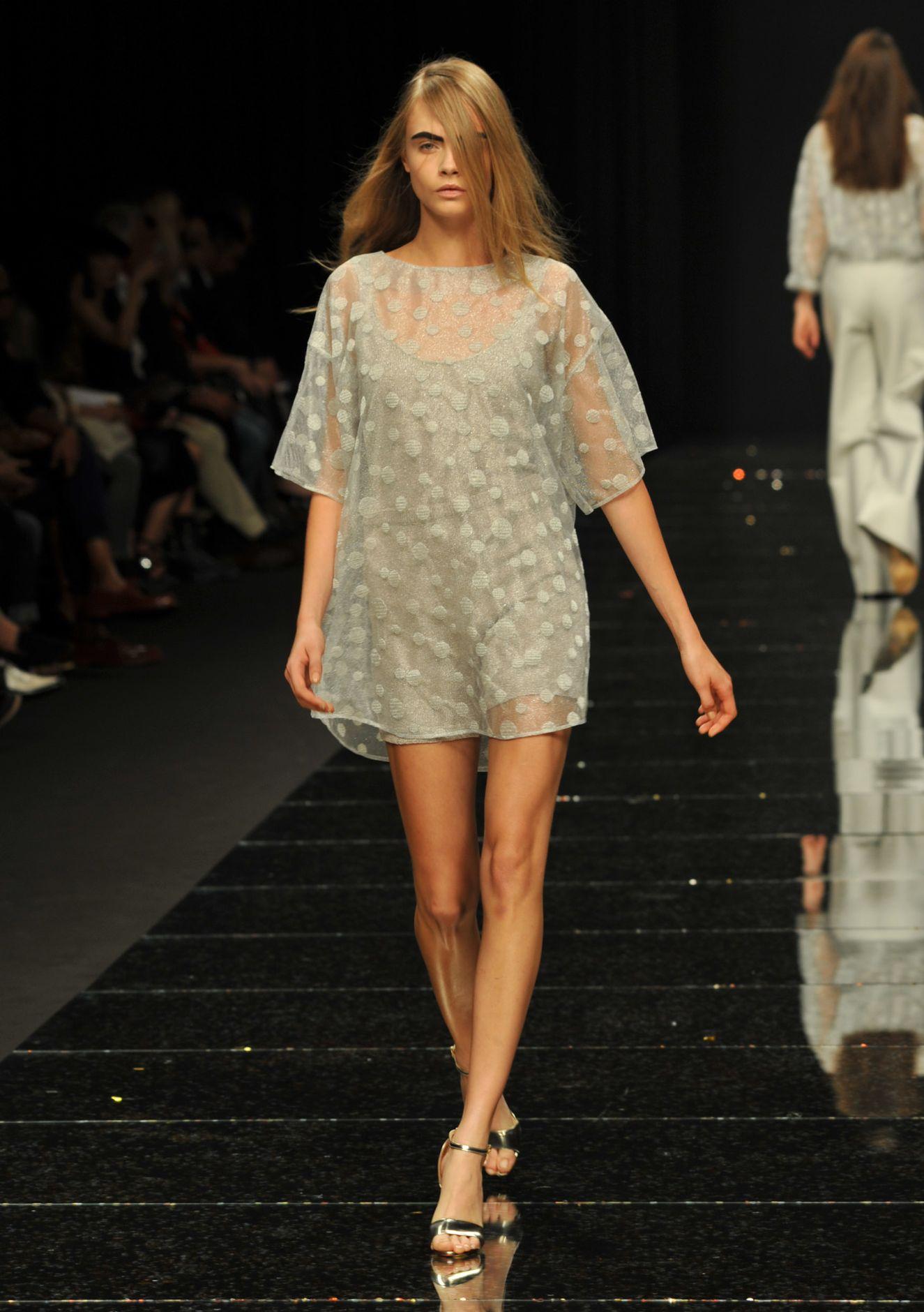Catwalk Anteprima Spring Summer 2013 Women Collection Milano Fashion Week
