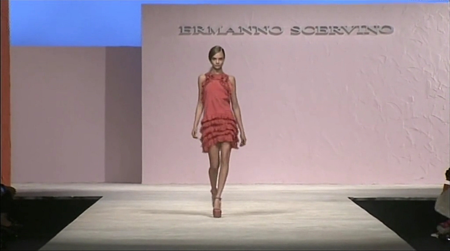 Ermanno Scervino Spring Summer 2013 Women's Fashion Show - Milano Fashion Week