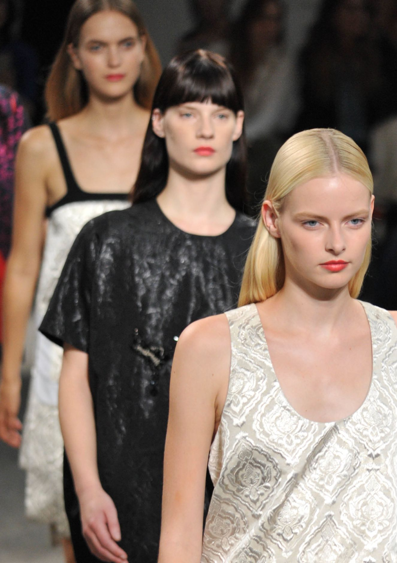N°21 Spring Summer 2013 Women Collection Milano Fashion Week Runway Finale