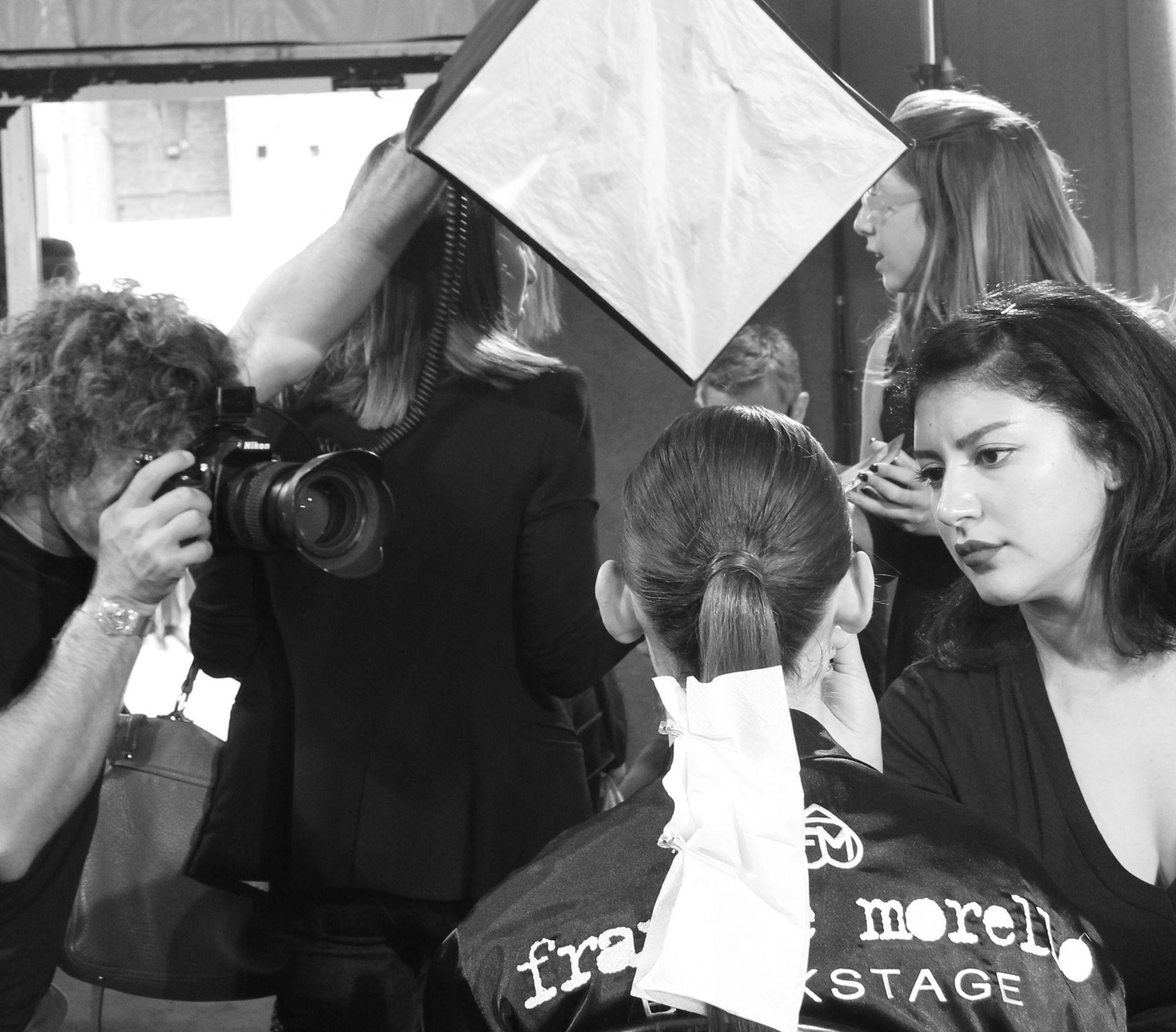 Backstage Fashion Woman
