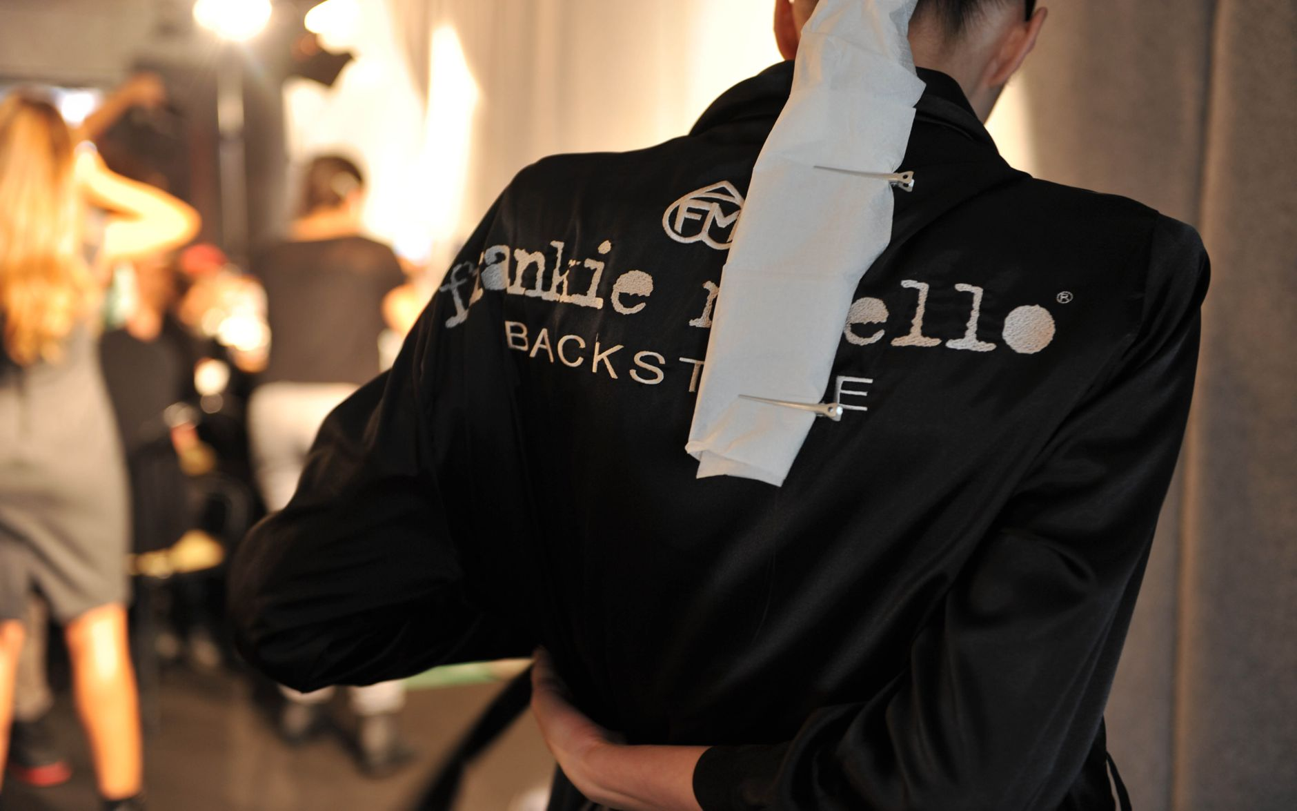 Backstage Frankie Morello Milan Fashion Week