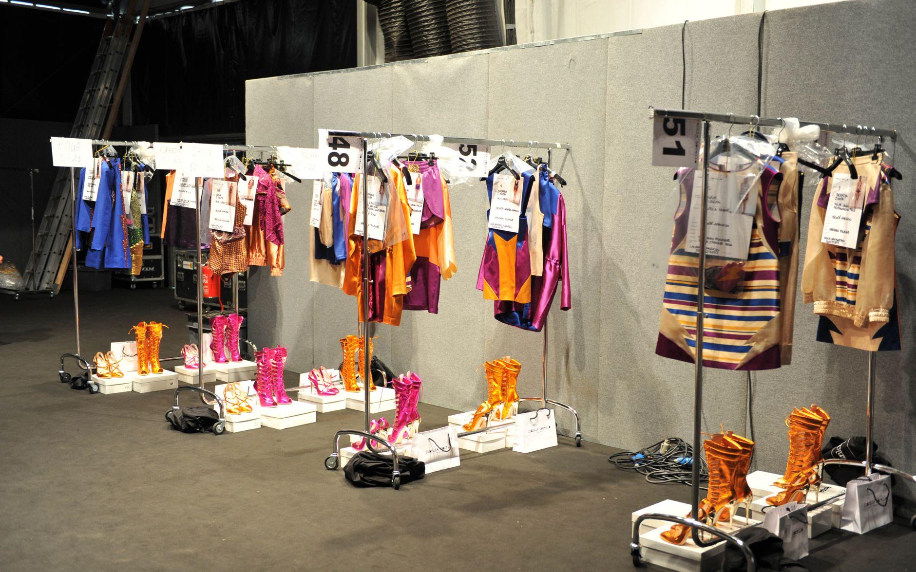 Backstage Frankie Morello Spring Summer 2013 Women Collection Milano Fashion Week Fashion Show
