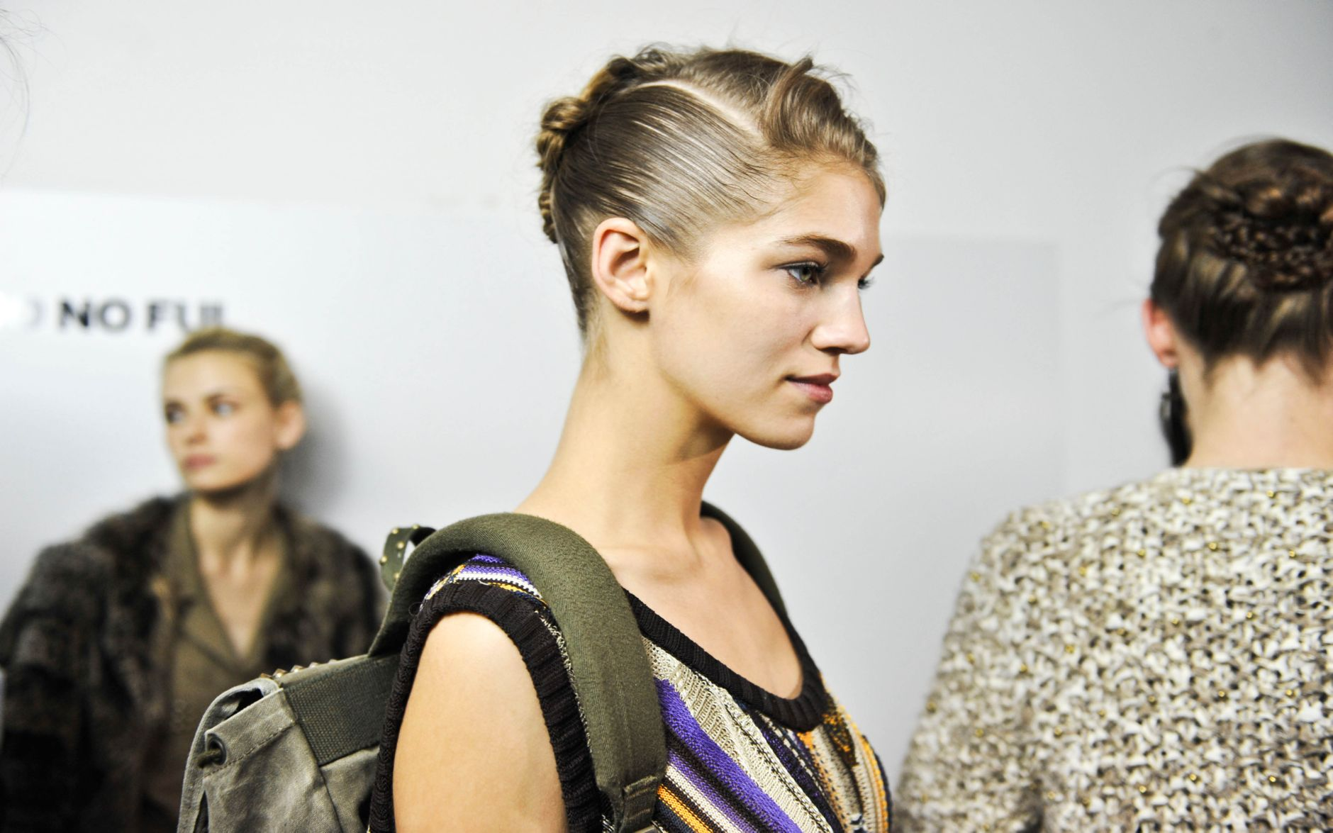 Backstage Jo No Fui Fashion Model Milano Fashion Week