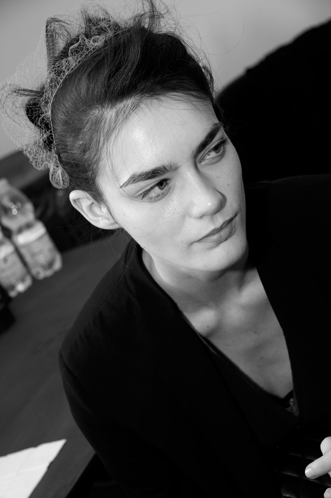Backstage Jo No Fui SS 2013 Milan Fashion Week