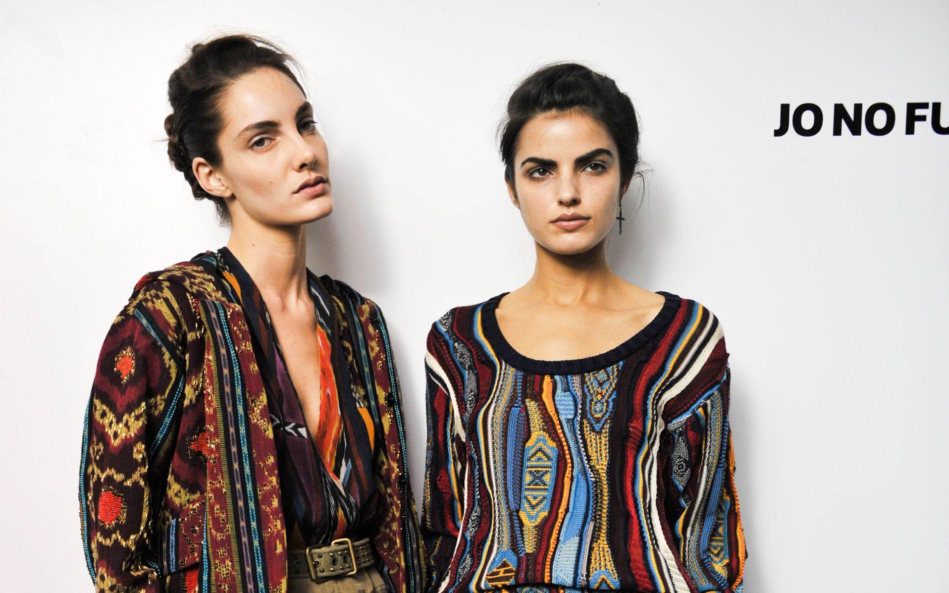 Backstage Jo No Fui Spring 2013 Milan Fashion Week