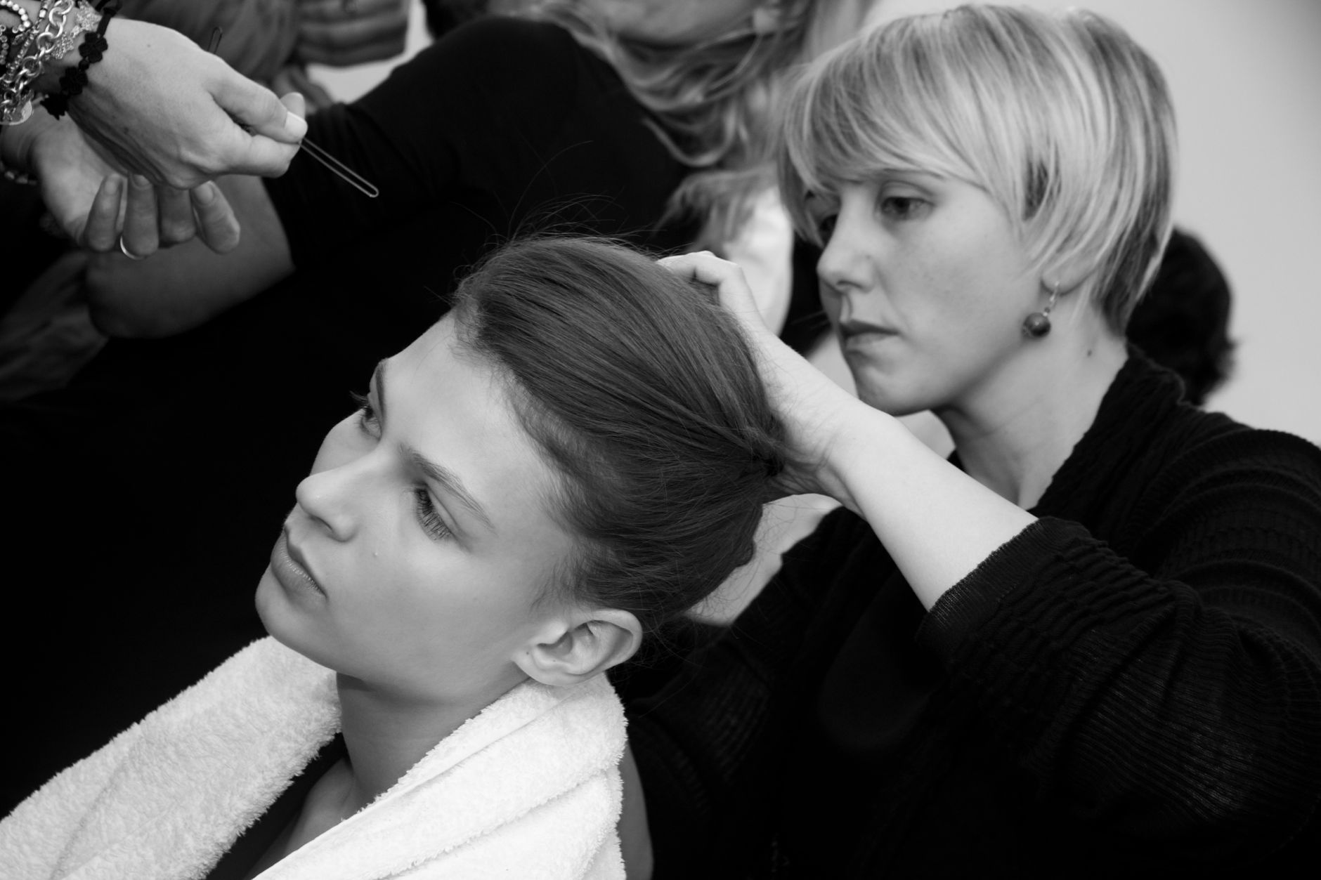 Backstage Woman Jo No Fui Milano Fashion Week