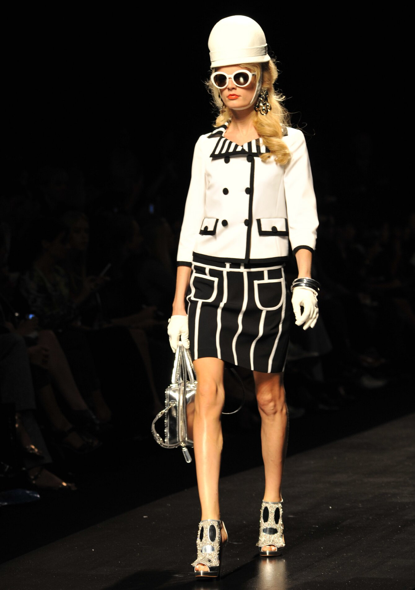 Catwalk Moschino Spring Summer 2013 Women Collection Milano Fashion Week