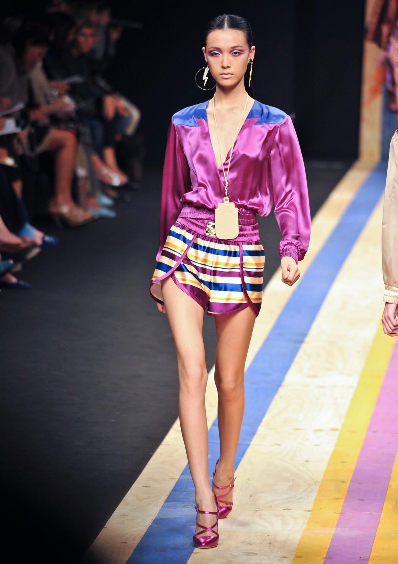 Fashion Model Frankie Morello Catwalk