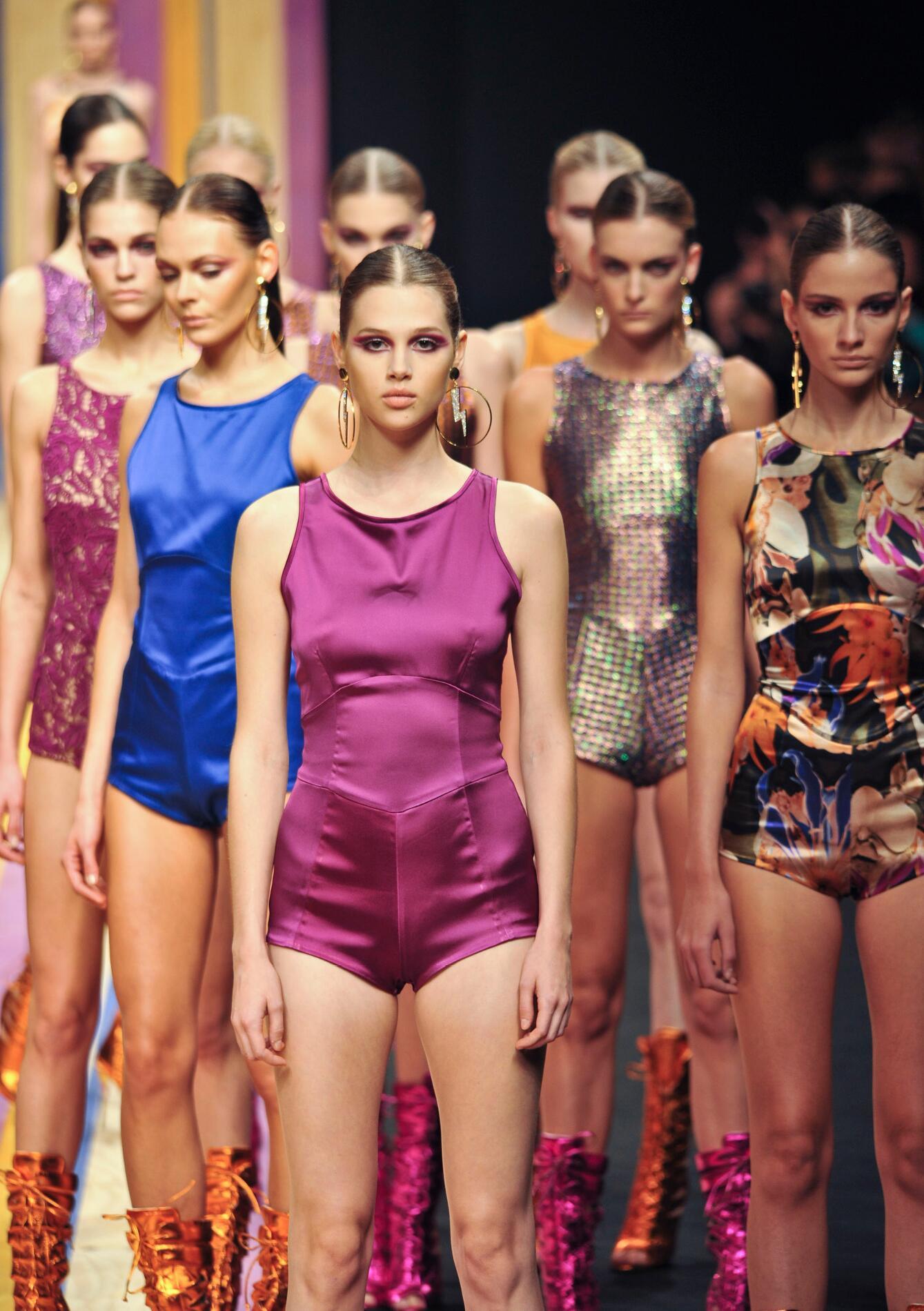 Frankie Morello Fashion Show 2013 Milan