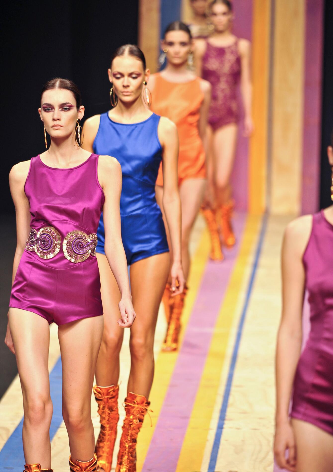 Frankie Morello Fashion Show Finale