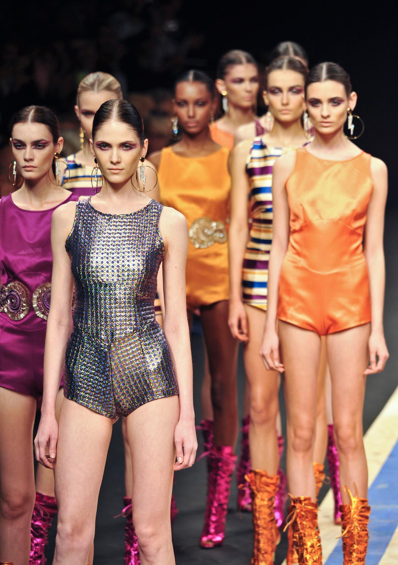 Frankie Morello Fashion Show Models