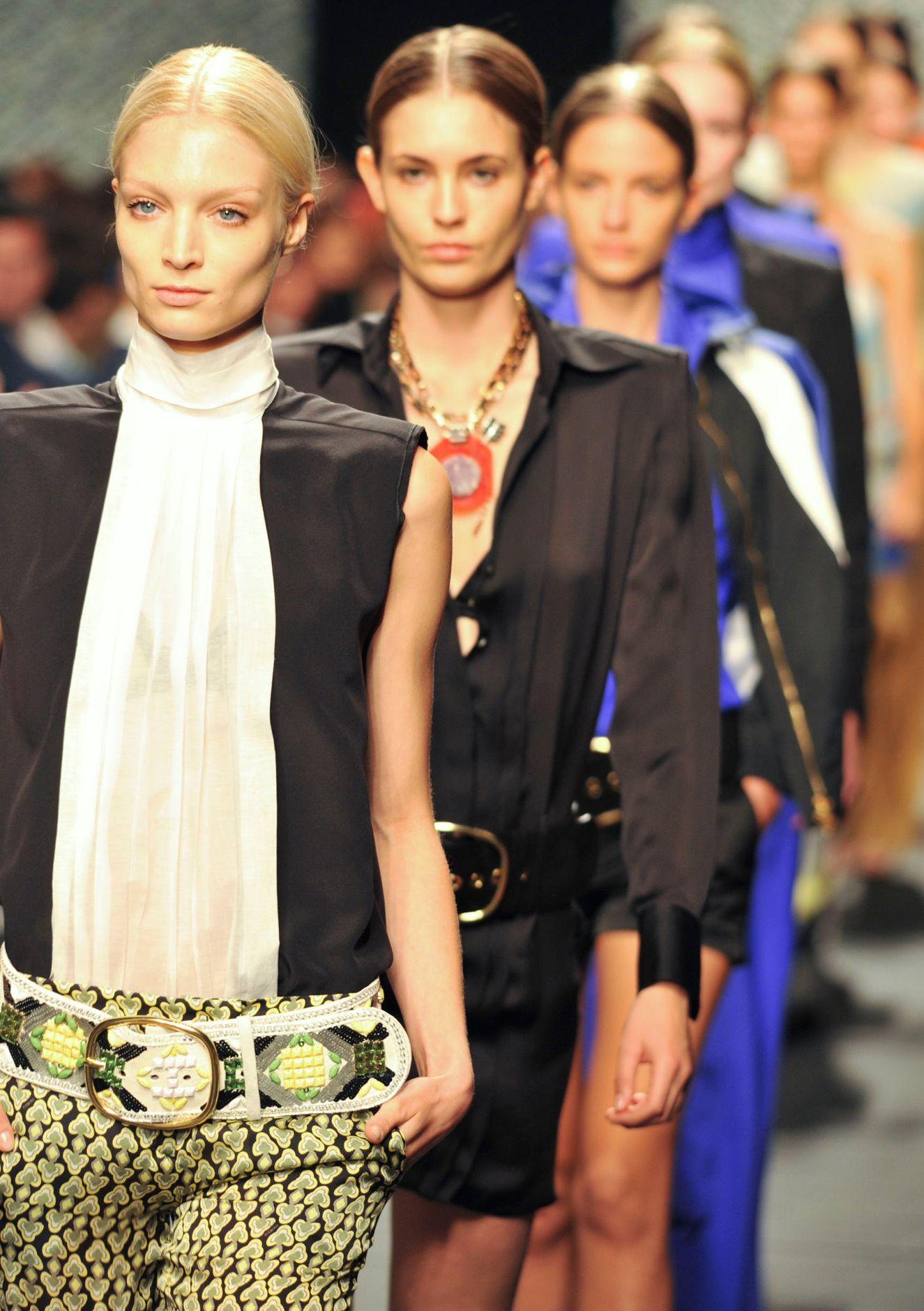 Iceberg Fashion Show Models