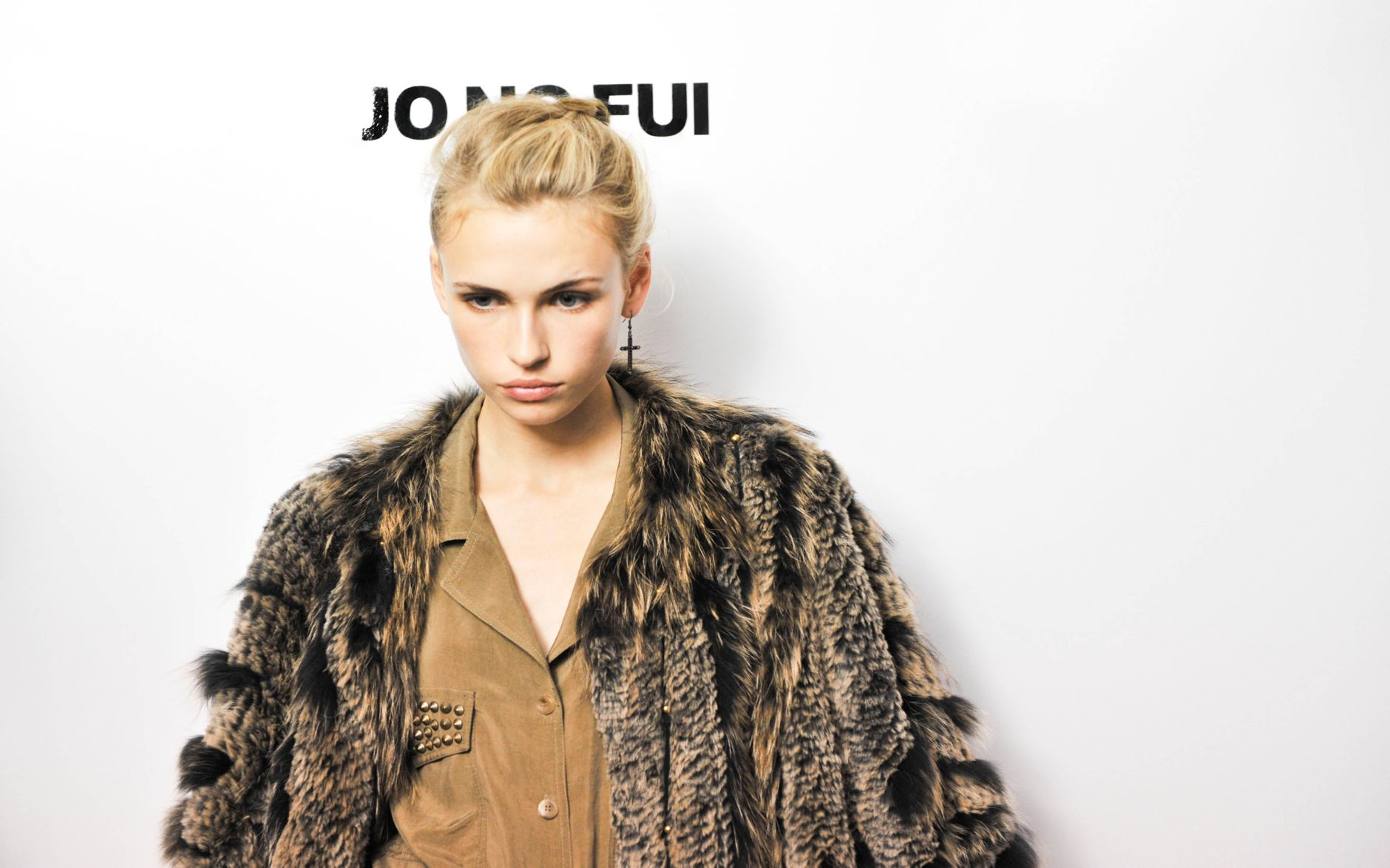 Jo No Fui Backstage Fashion Model Milan Fashion Week