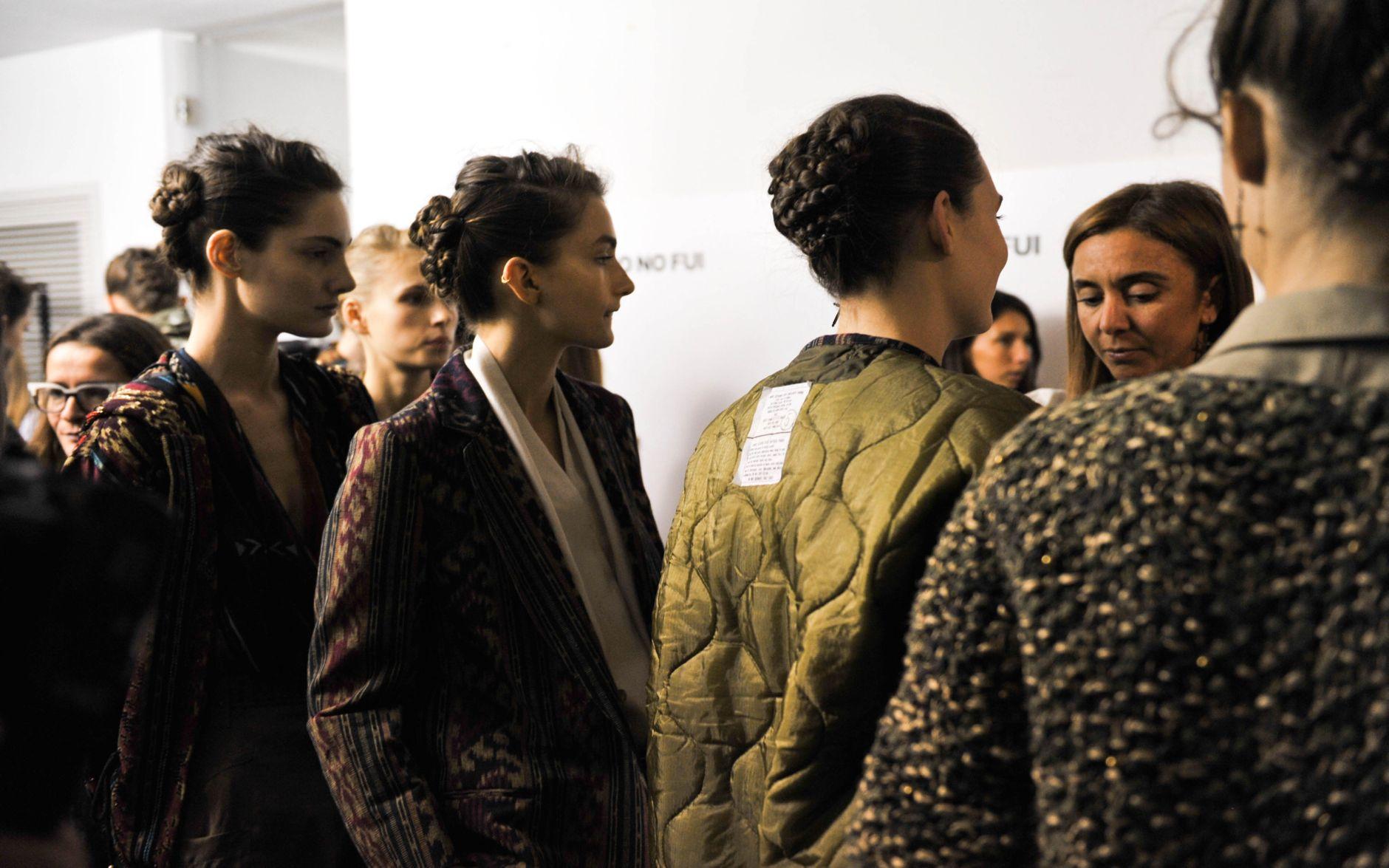 Jo No Fui Backstage Spring 2013 Milano Fashion Week
