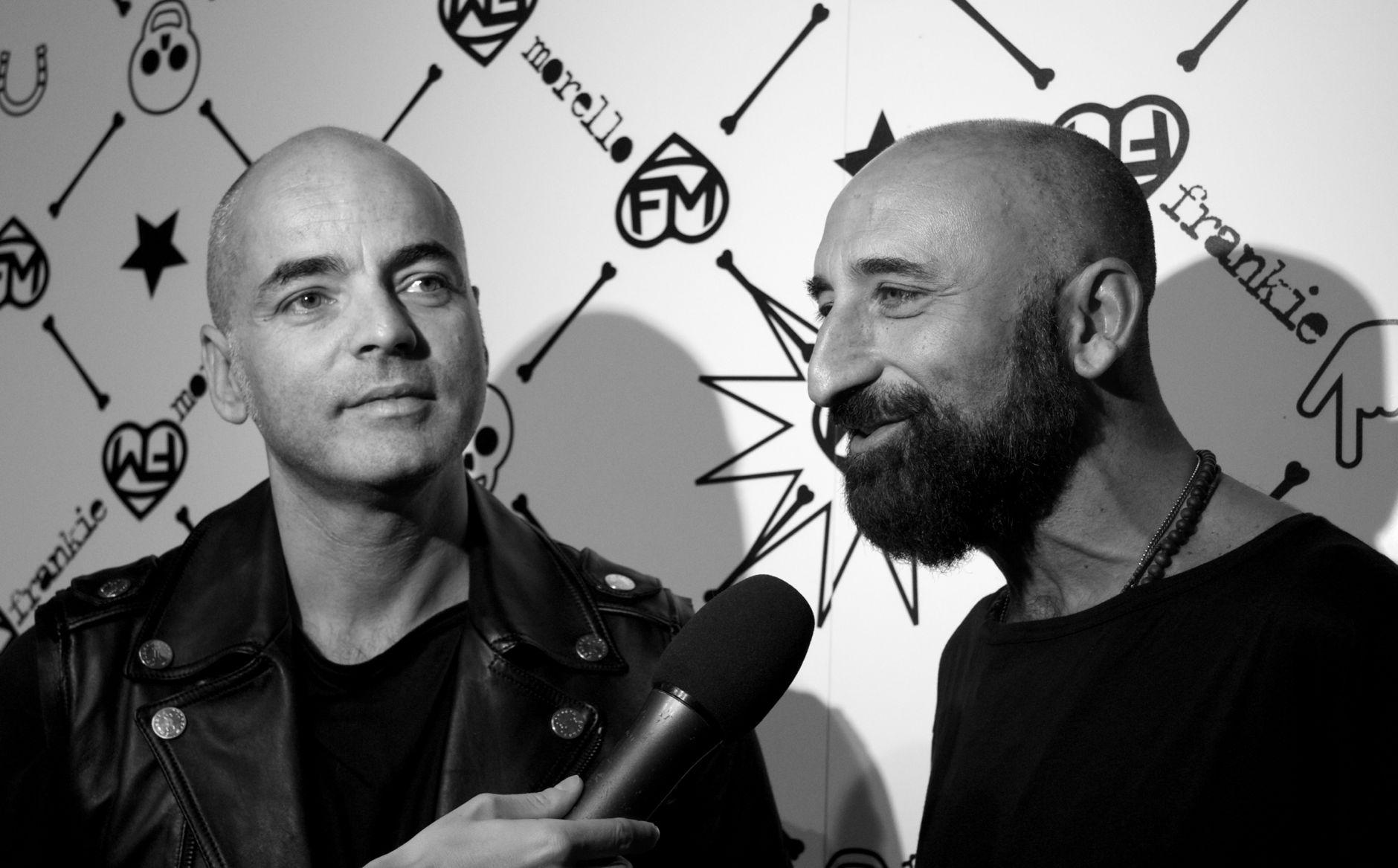 Maurizio Modica and Pierfrancesco Gigliotti Frankie Morello Women Fashion Show
