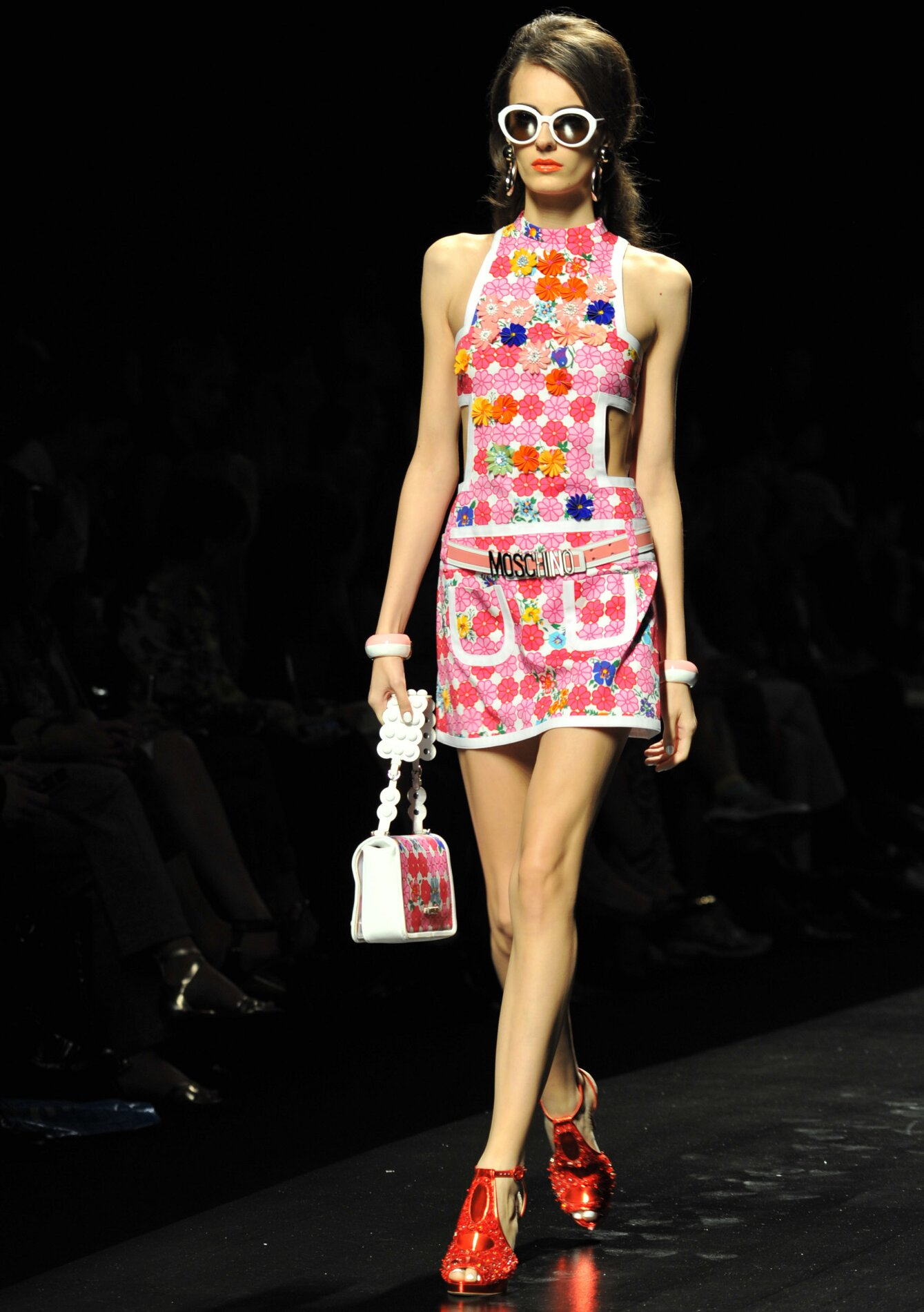 Moschino Flowers Dress