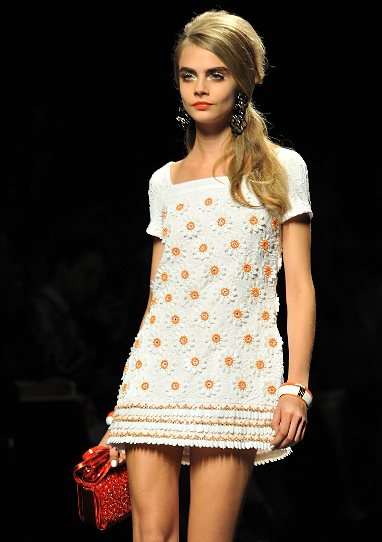 Moschino Spring 2013 Flowers Dress