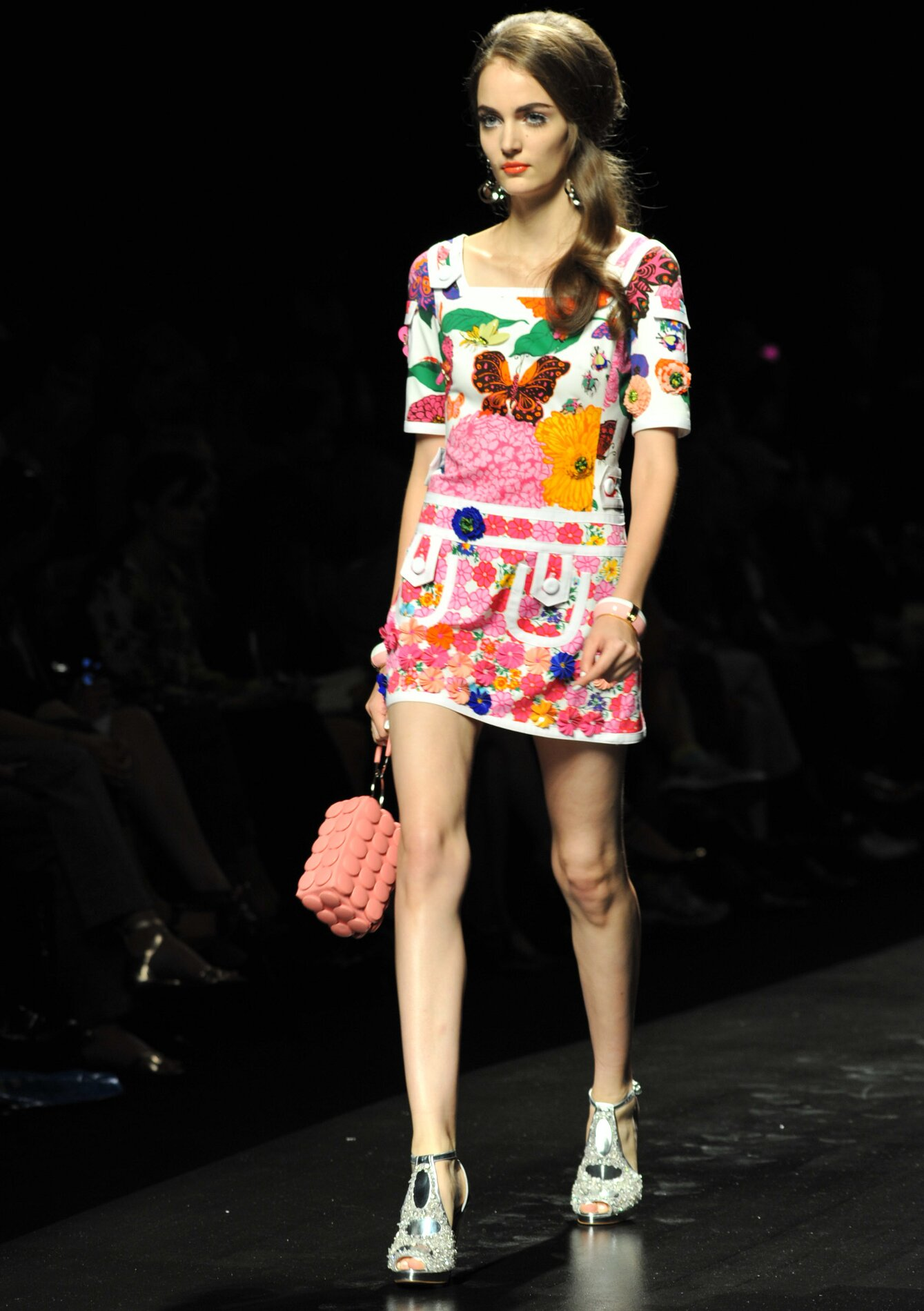 Moschino Spring Summer 2013 Womenswear Collection Milano Fashion Week