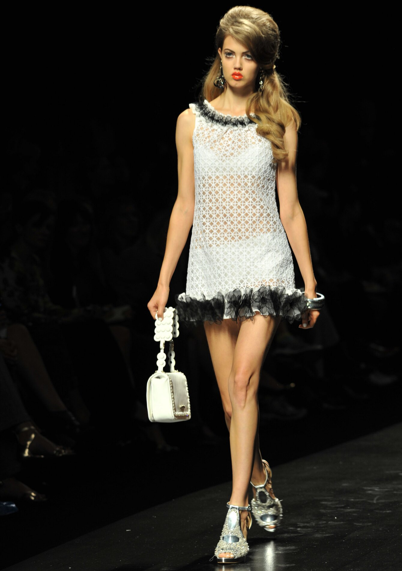Moschino Woman White Dress