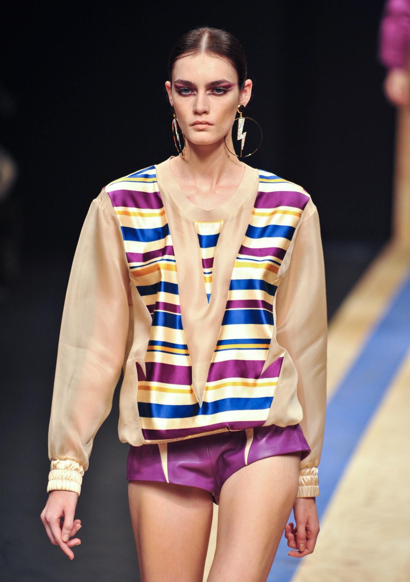 Runway Frankie Morello Spring Summer 2013 Women Collection Milano Fashion Week