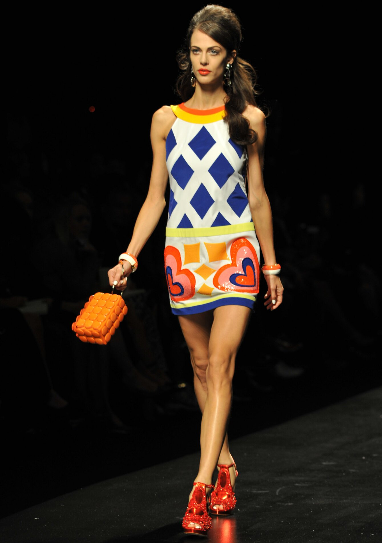 Summer 2013 Fashion Color Trends Moschino
