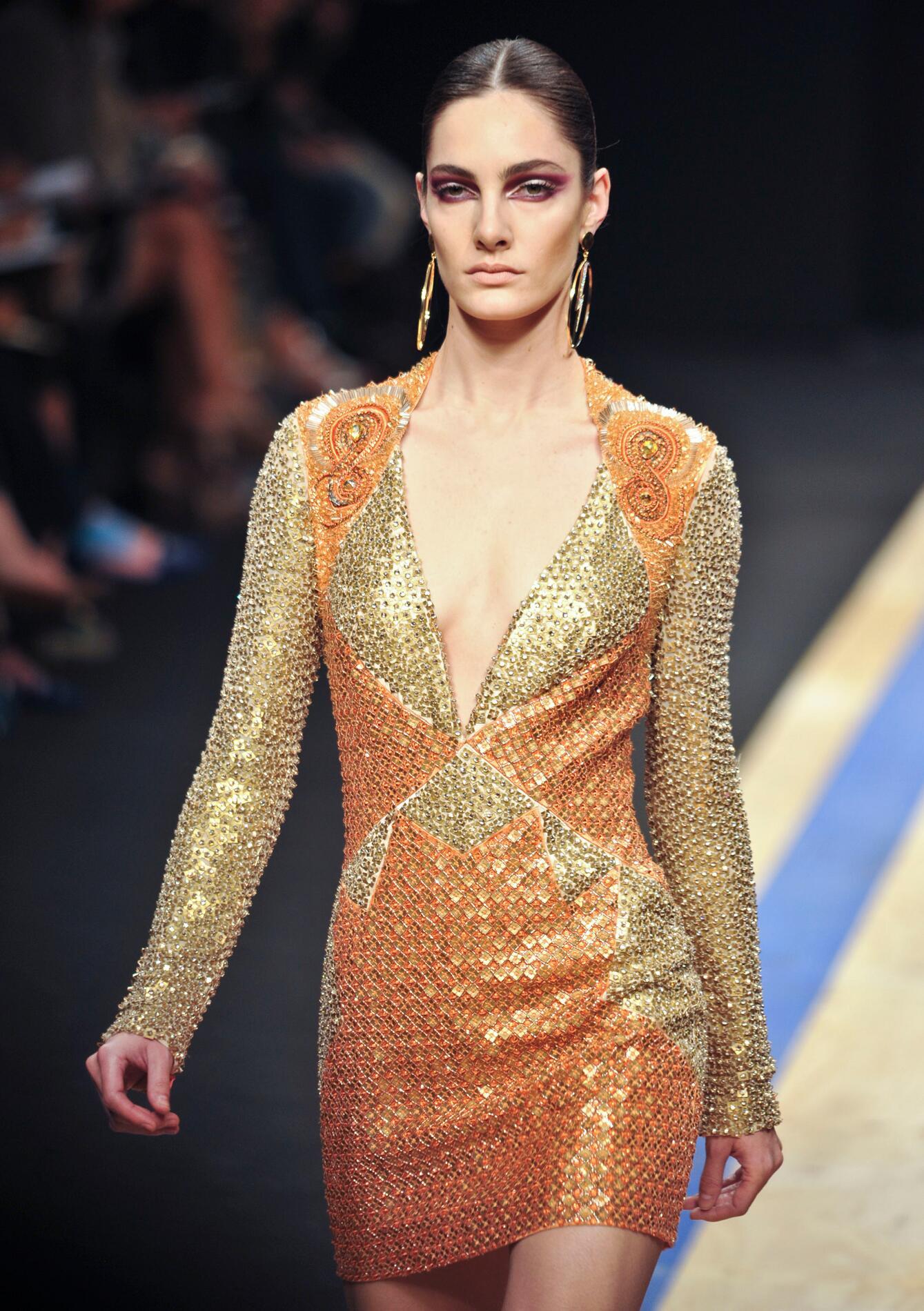 Summer Color Dress Frankie Morello 2013