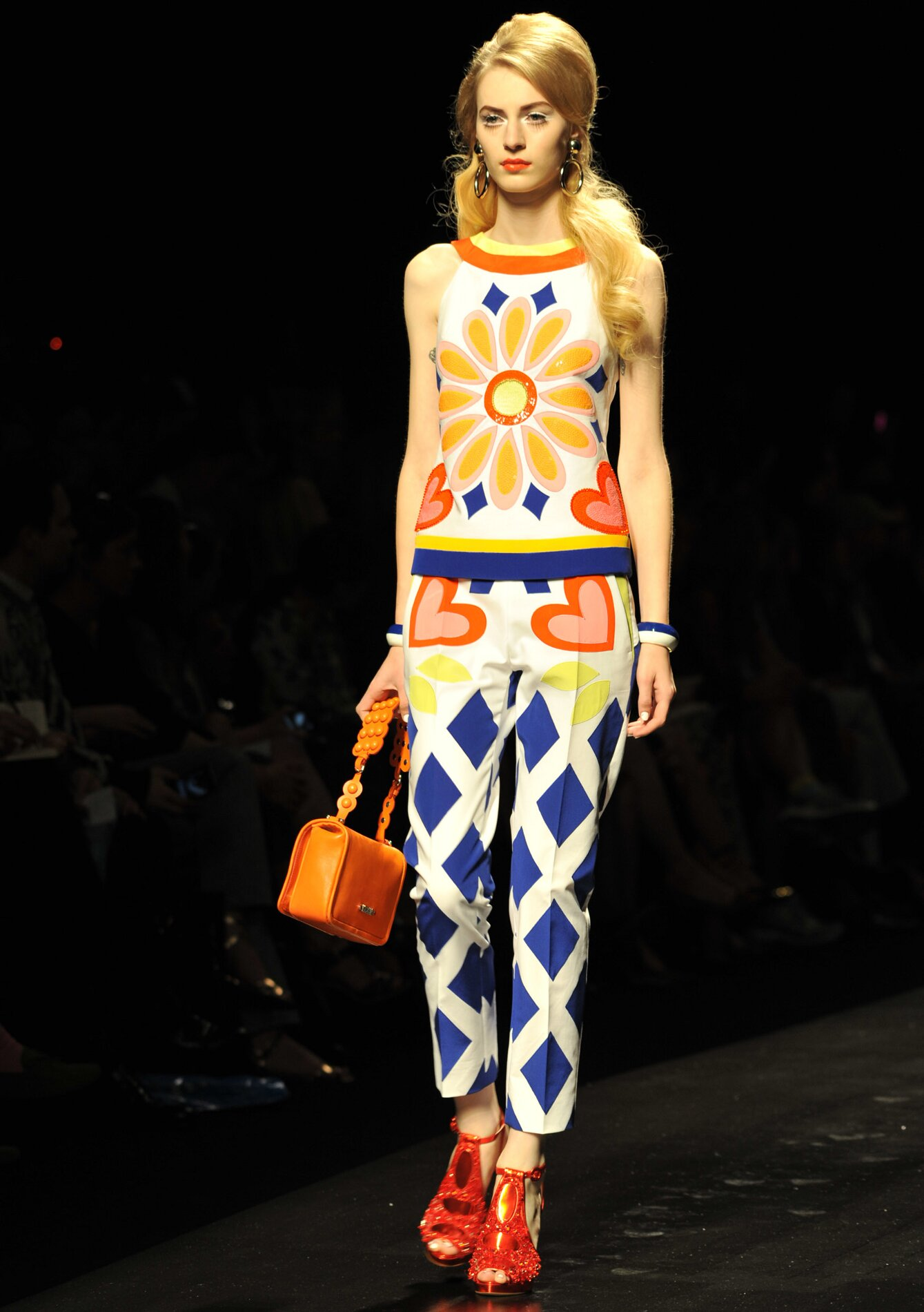 Summer Color Dress Moschino 2013